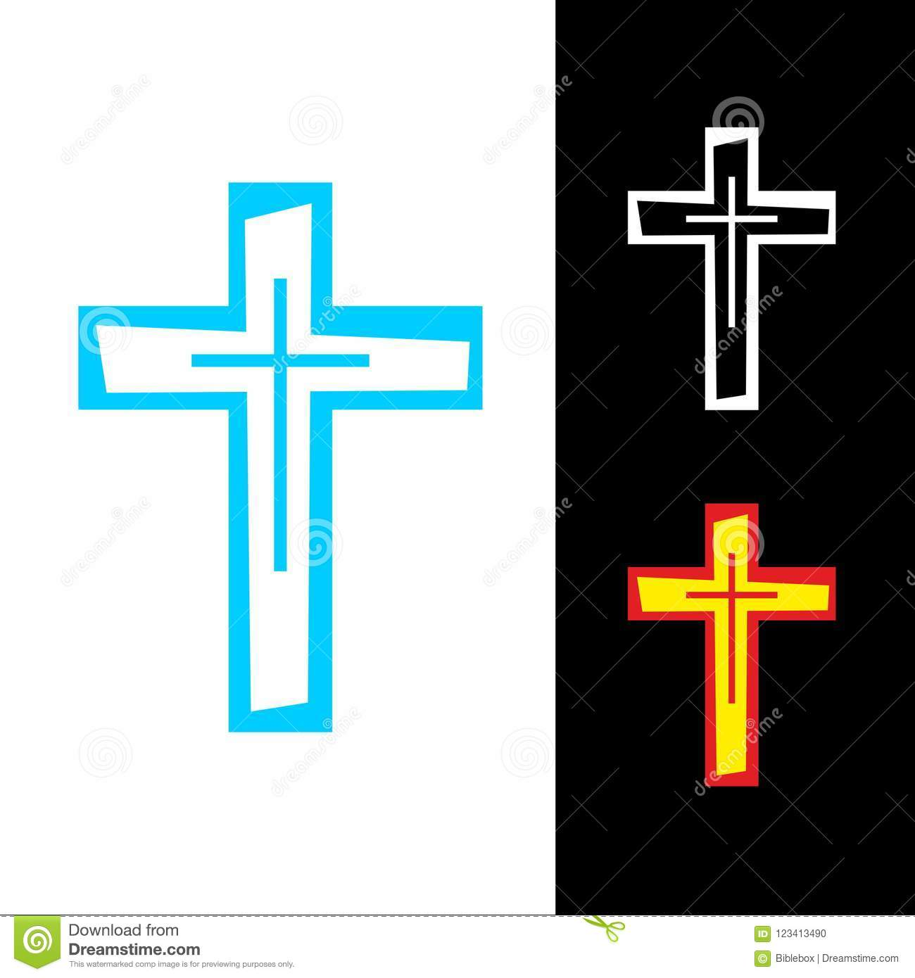 Church Logo The Cross Of Jesus Christ Is A Symbol Of Death And