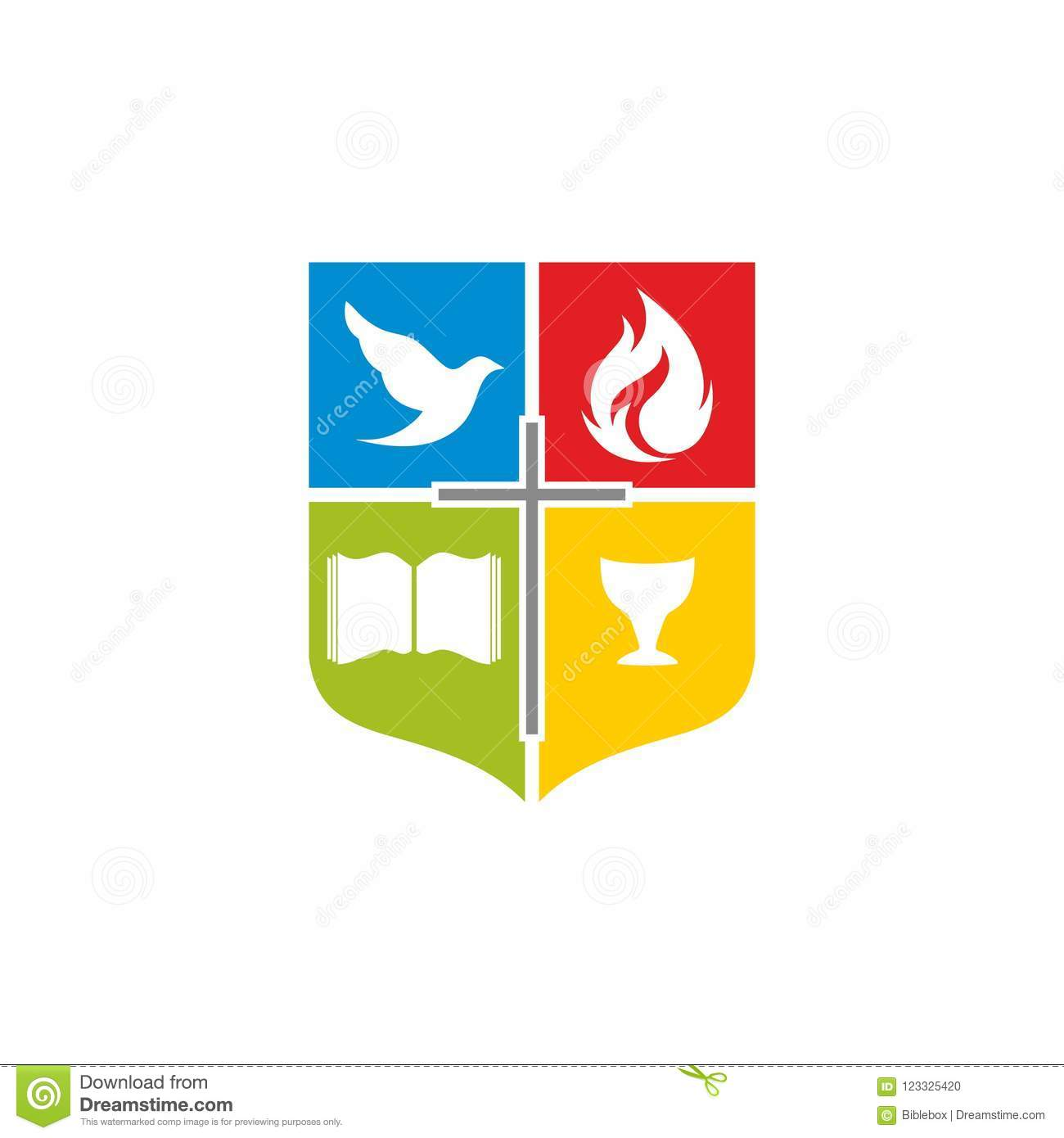 Church logo the cross of jesus the open bible the cup of christ download church logo the cross of jesus the open bible the cup of altavistaventures Choice Image