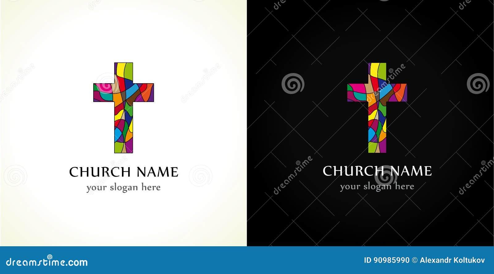 church logo stock vector illustration of friday broken 90985990