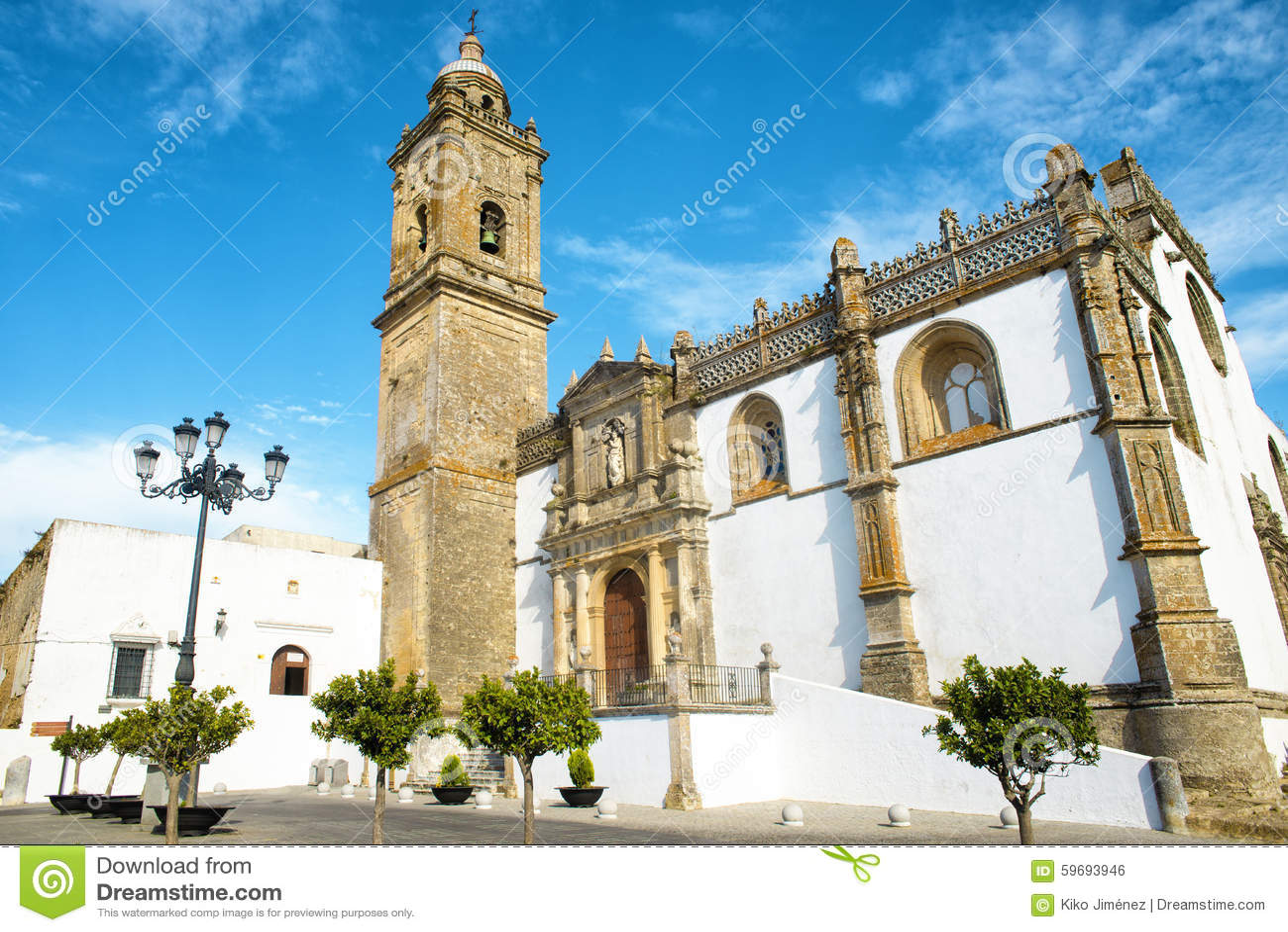 Church in Medina Sidonia, Andalusia, Spain.