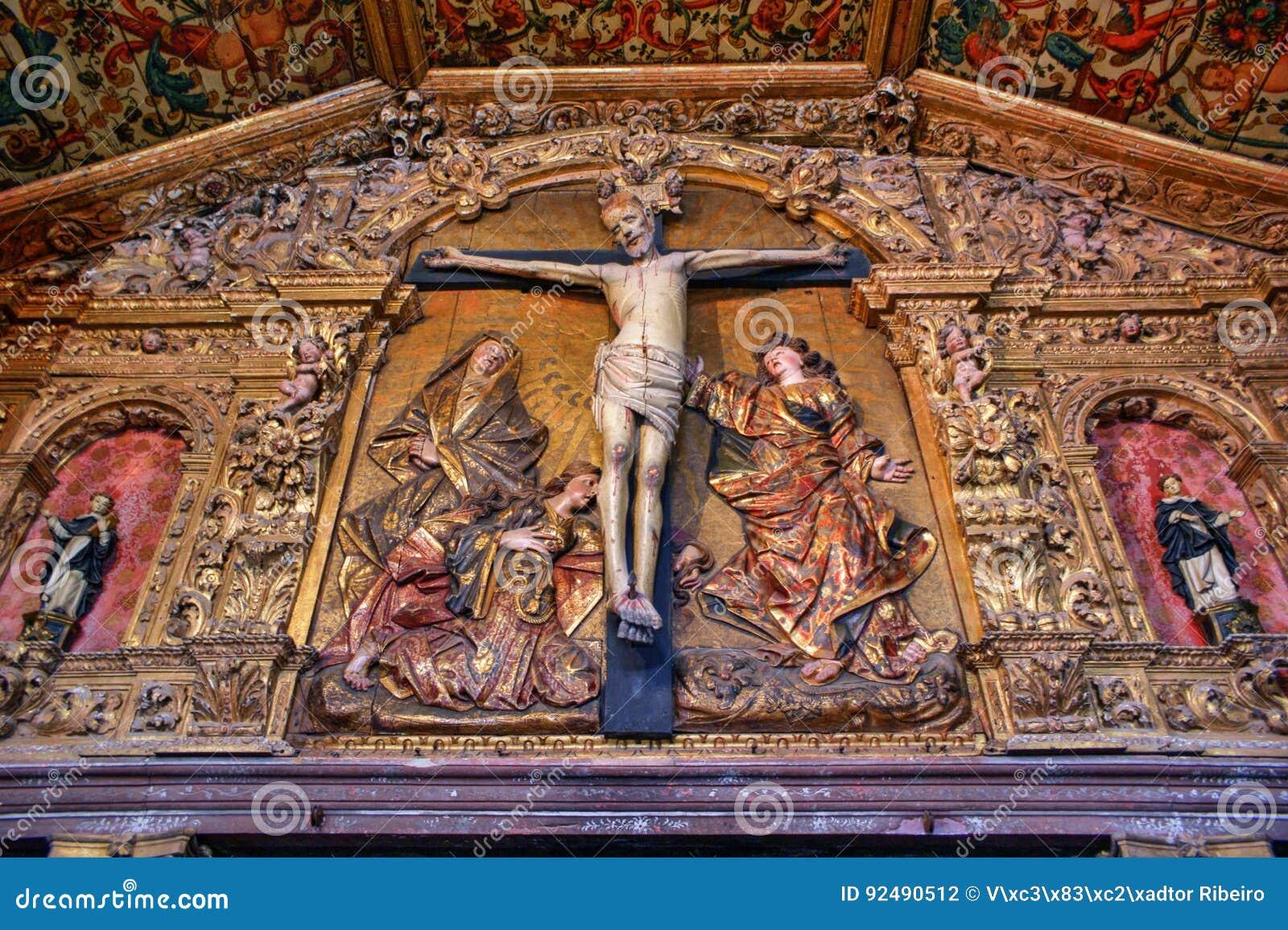 Church of monastery of Jesus in Aveiro