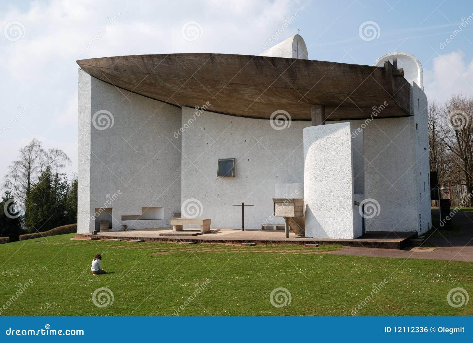 The Church Of Notre-Dame Du Haut, Ronchamp Royalty Free