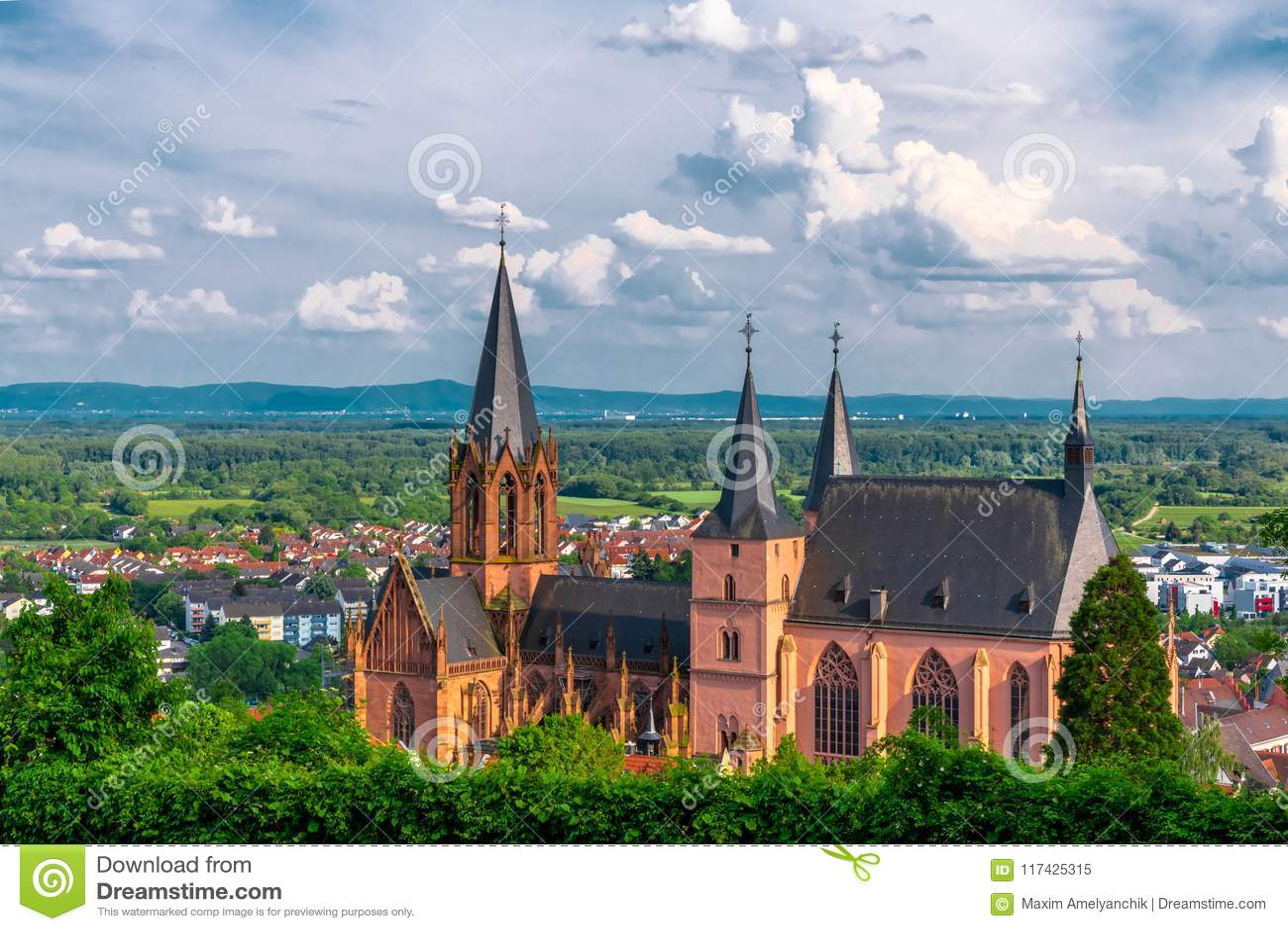 Church in Oppenheim, Germany
