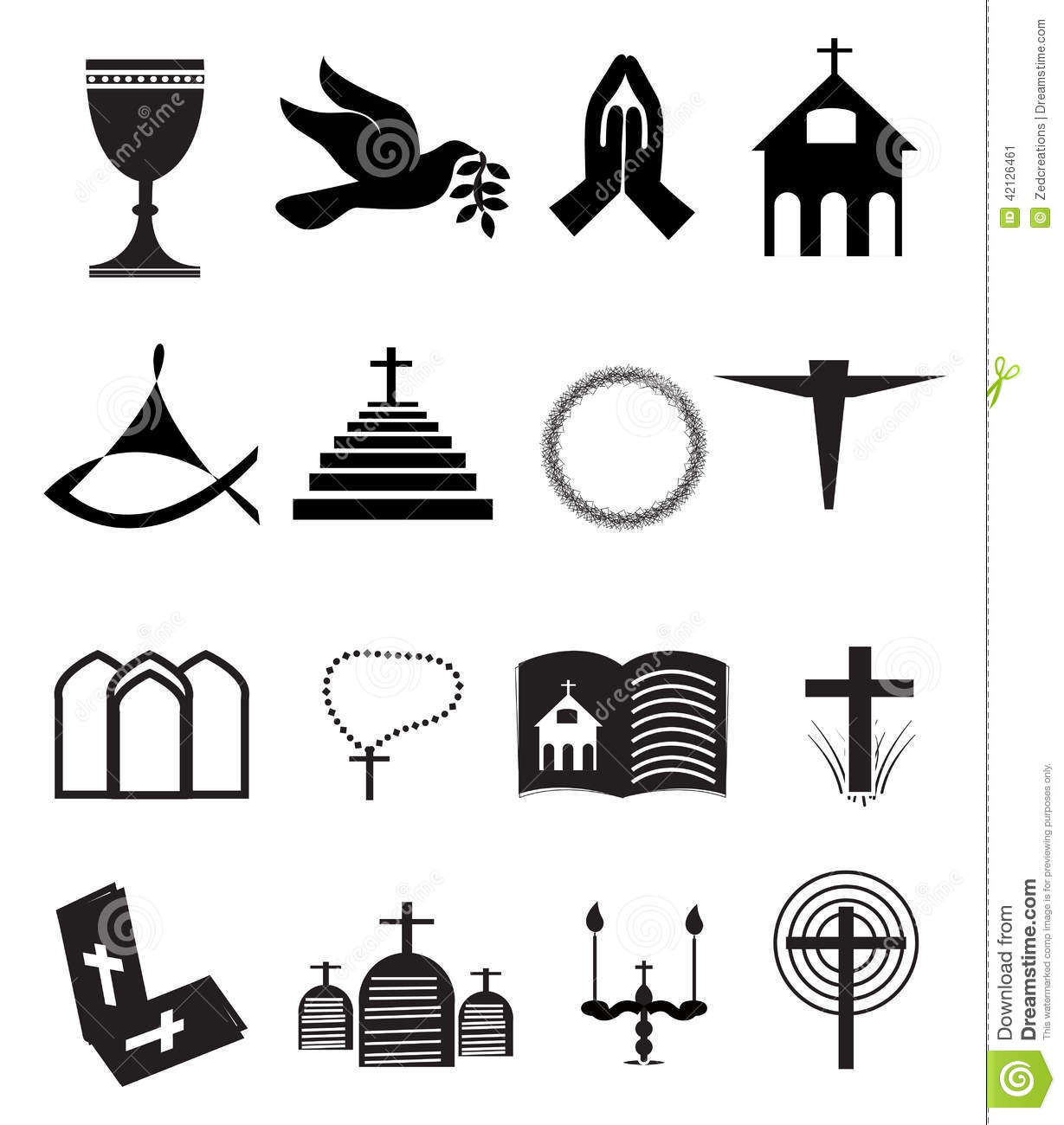 More similar stock images of ` Church and Other Christian Symbol Icons ... Catholic Chalice