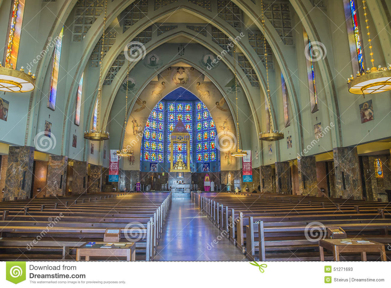 the church of our lady of fatima  in lisbon  portugal  1938 editorial stock photo