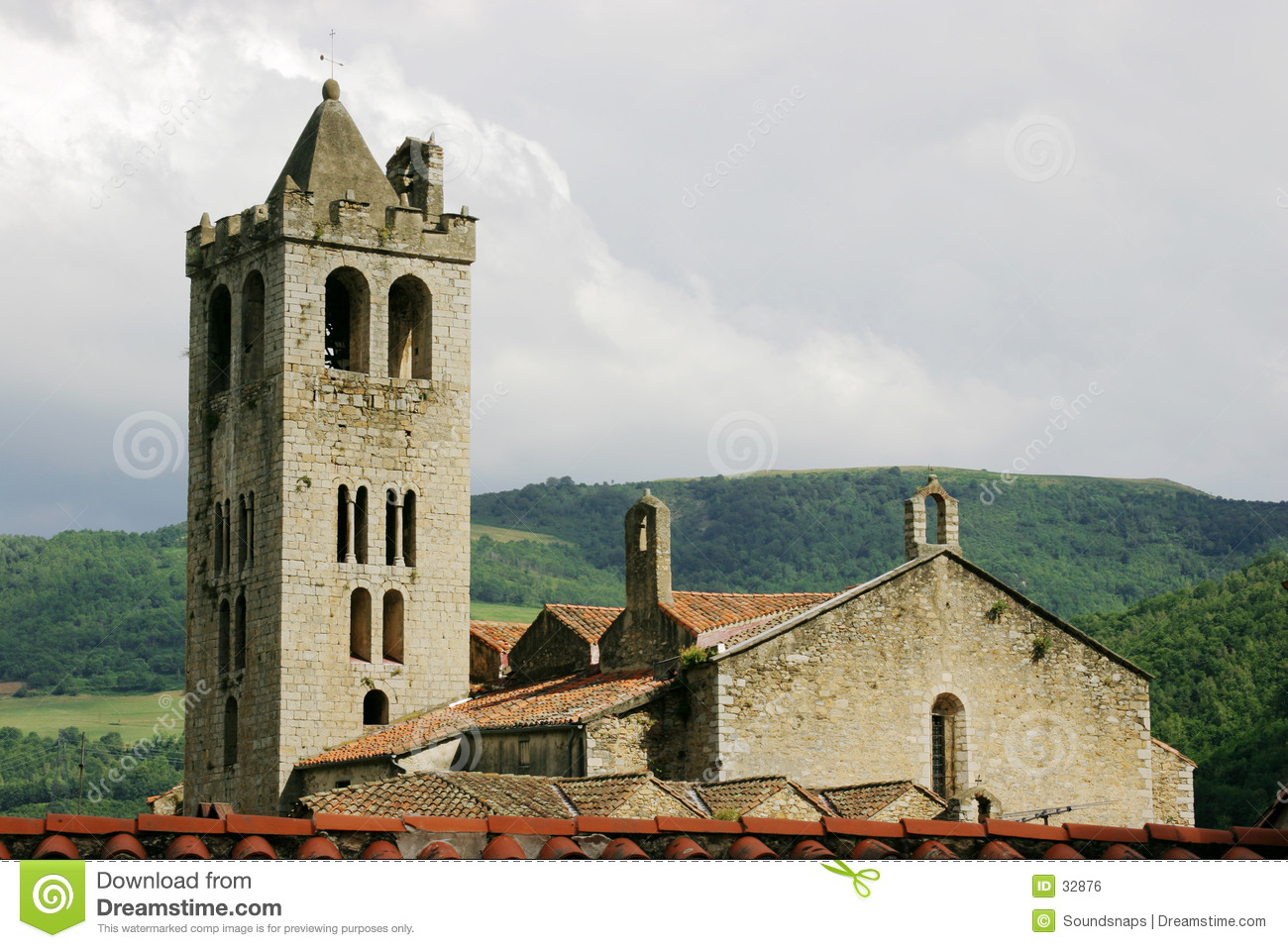 Church in Pyrenees