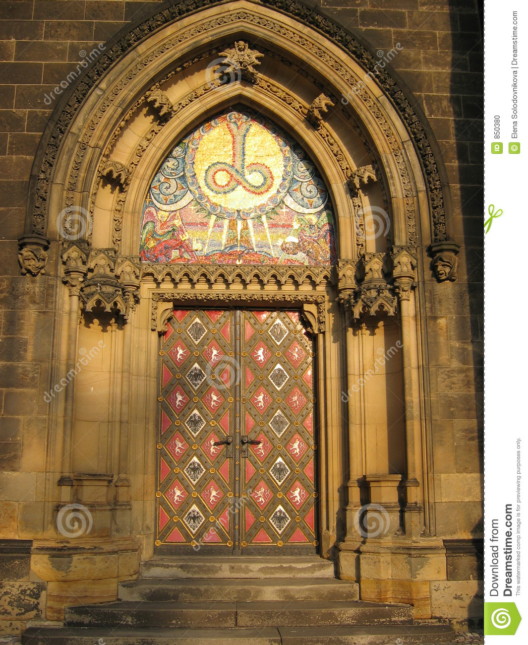 Church 39 s door stock photo image 850380 for Door z prague