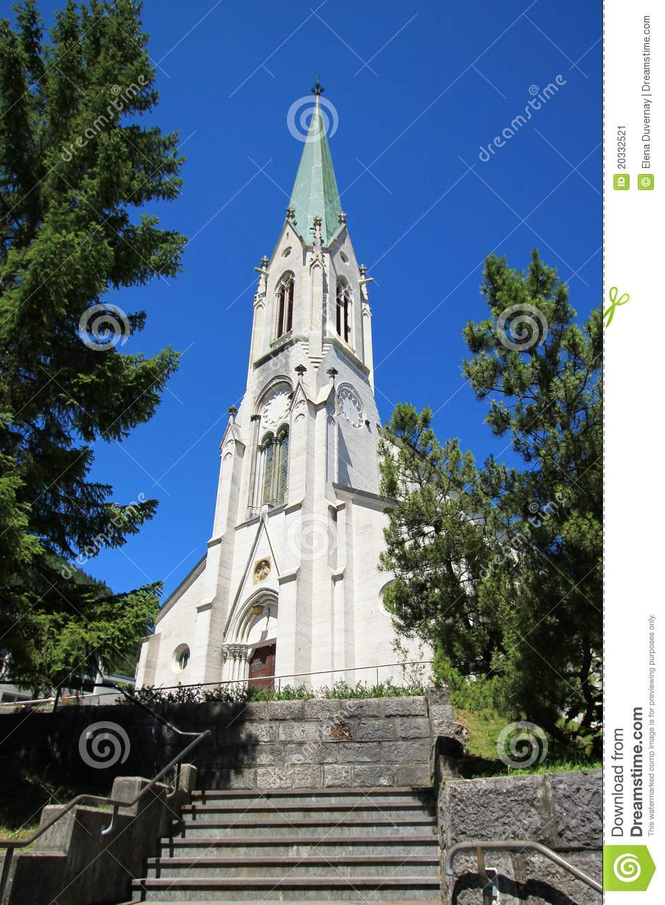 Church of saint imier jura switzerland stock image for 3d architecture yverdon