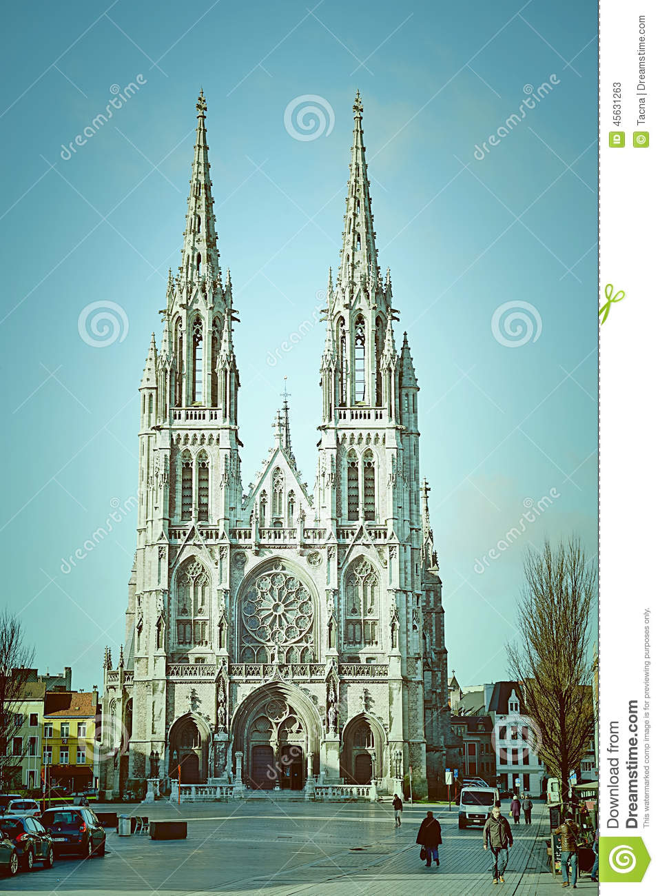 Church Of Saint Peter And Paul Editorial Stock Photo Image Of