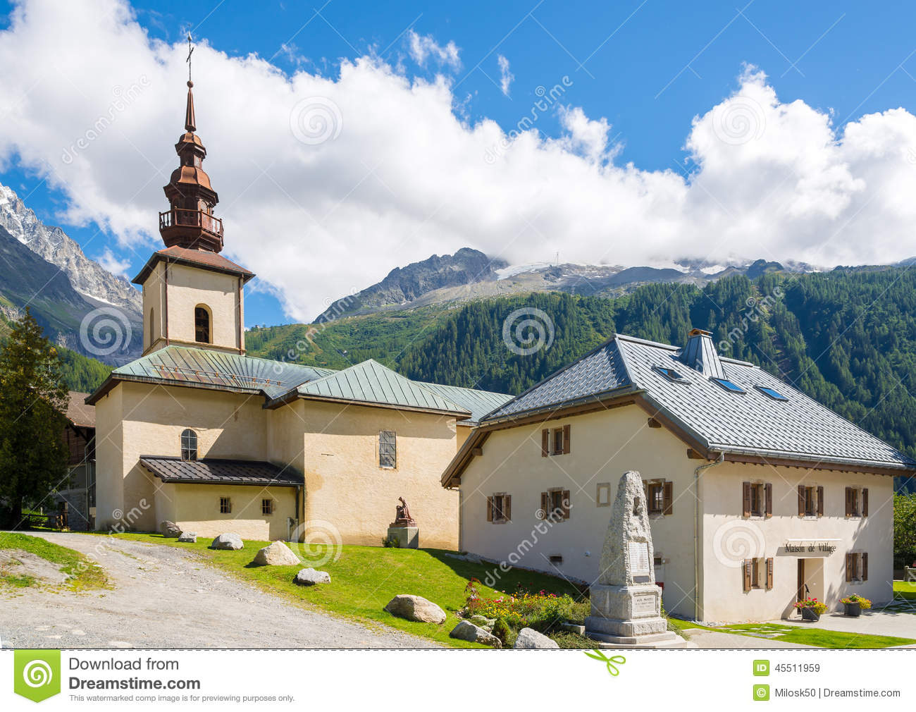 Church Saint-Pierre d Argentiere