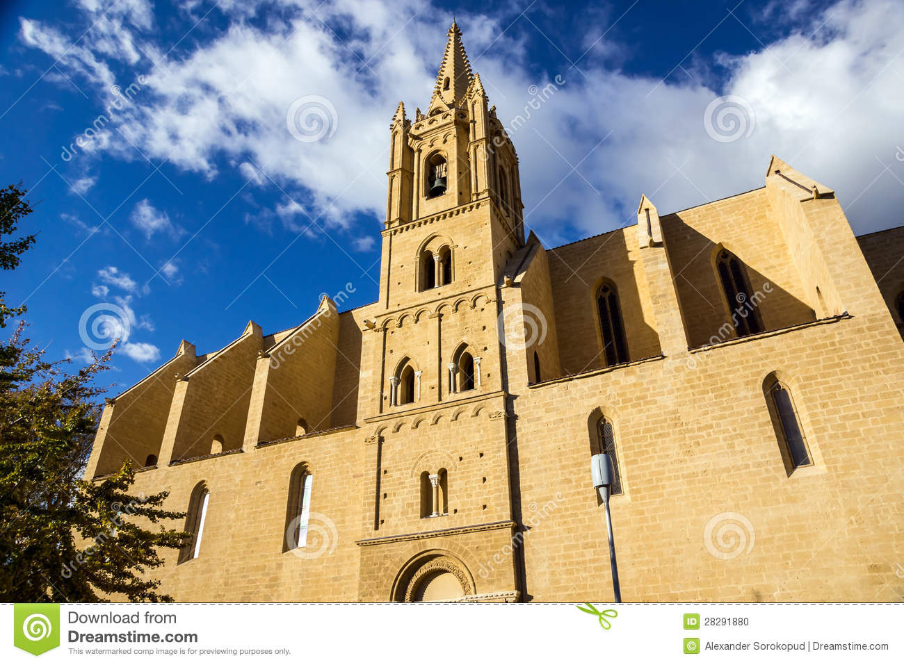 Church in salon de provence on sunset stock photo image - Seat salon de provence ...