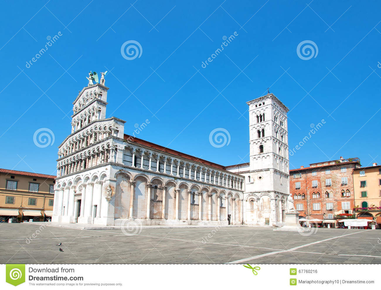 Church San Michele in Foro, Lucca, Italy