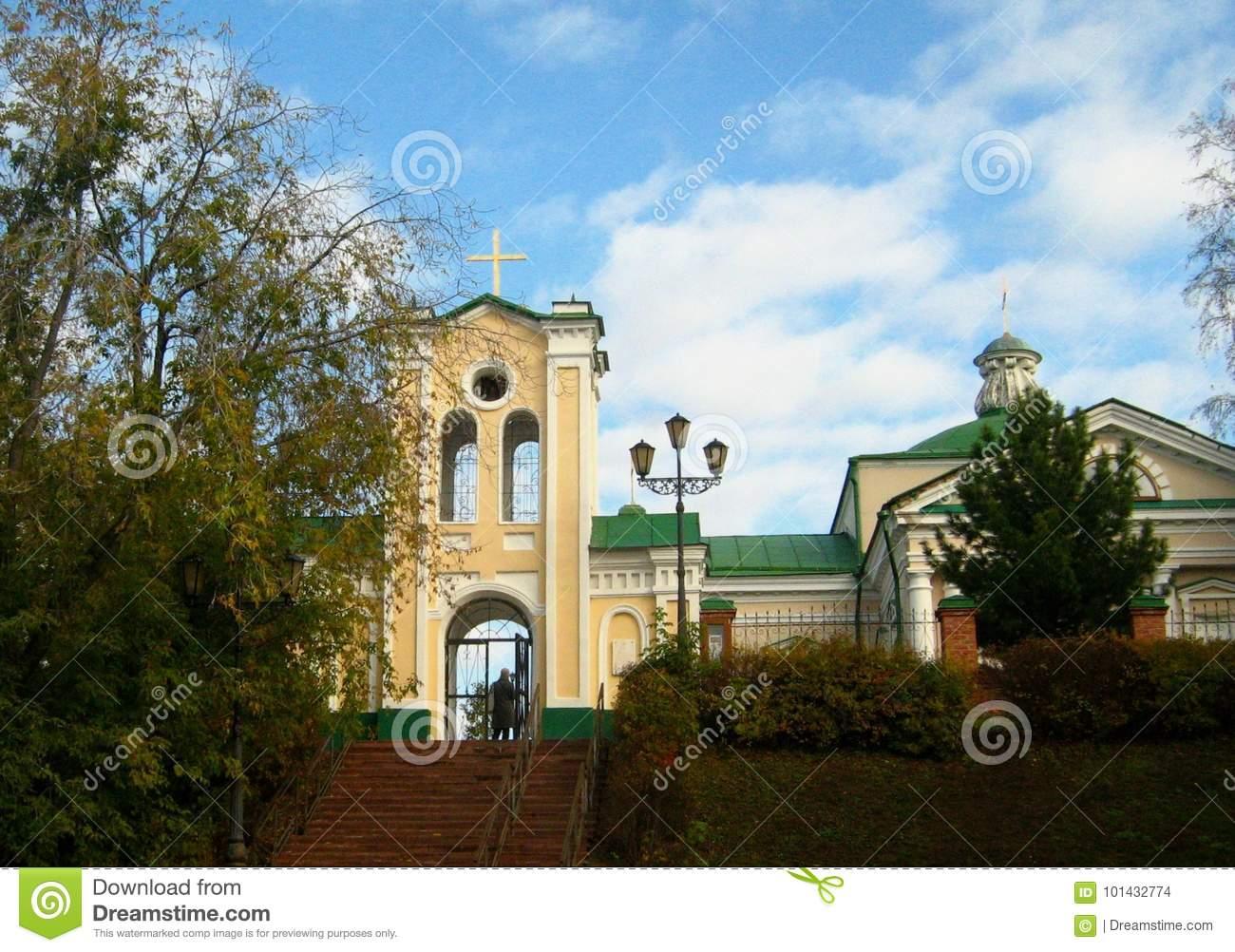 The Church in the Siberian city of Tomsk.