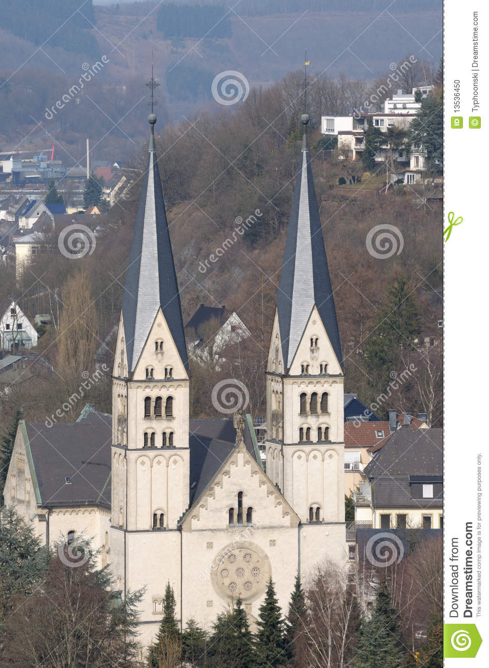 Siegen Germany  City new picture : Church In Siegen, Germany Stock Photo Image: 13536450