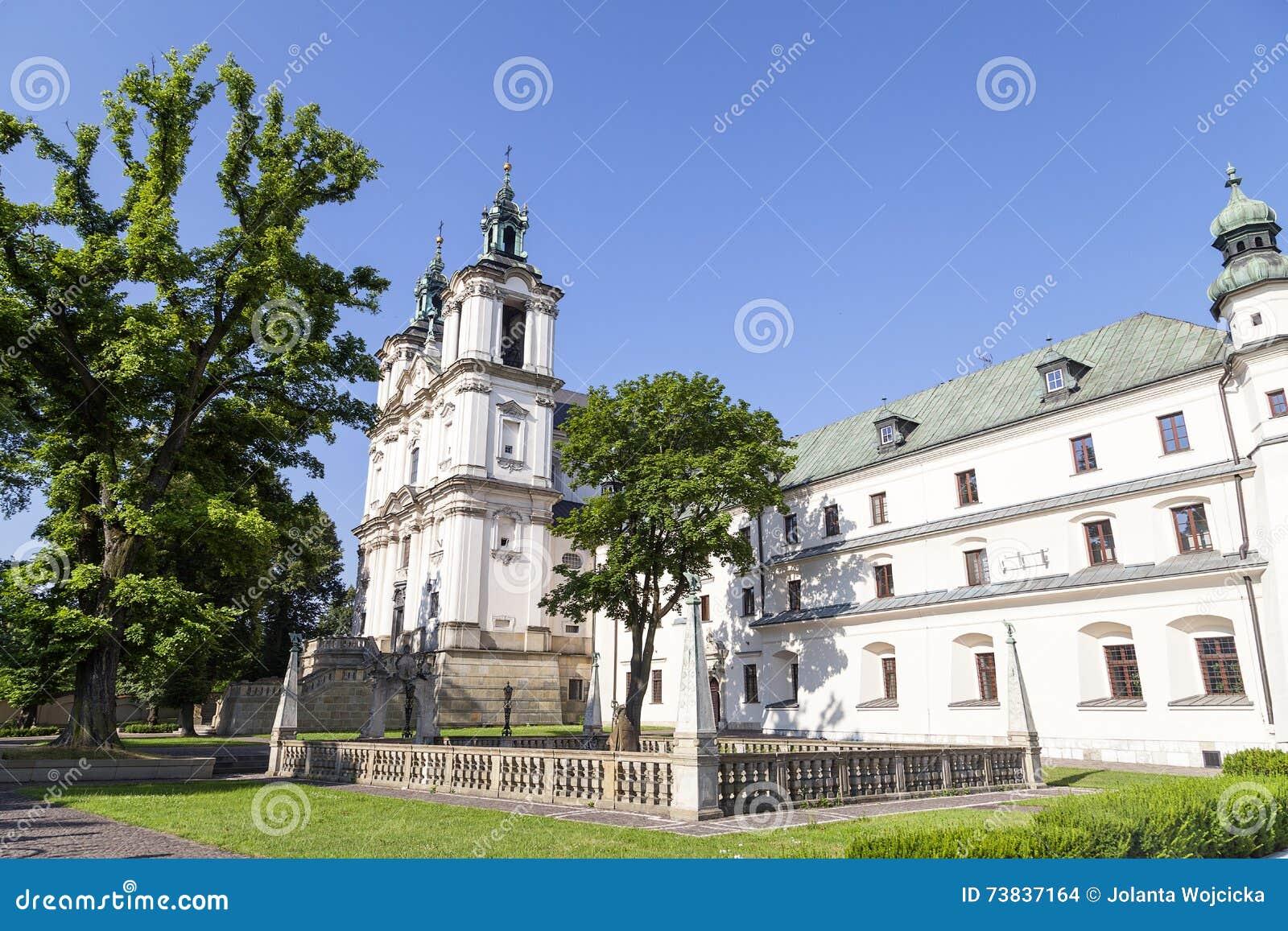 Church on Skalka, Pauline Fathers Monastery, Krakow, Poland.