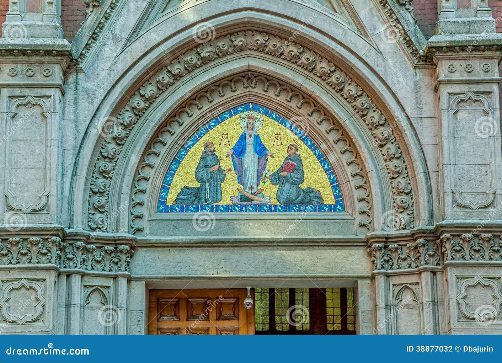 Church Of St  Anthony, Istanbul Stock Photo - Image of holy