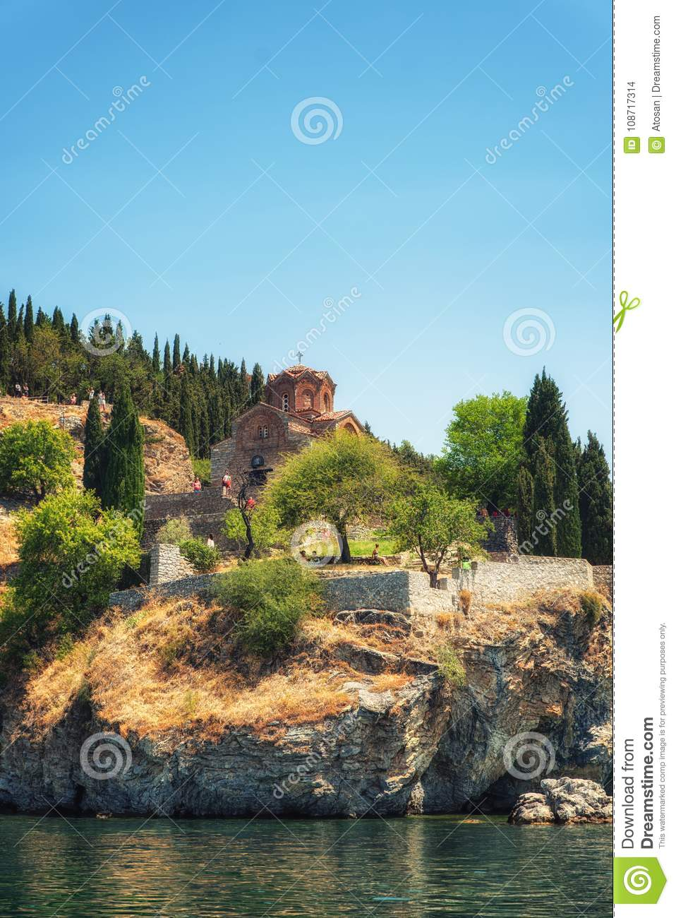 Church Of St John Ohrid Macedonia Editorial Stock Image Image Of