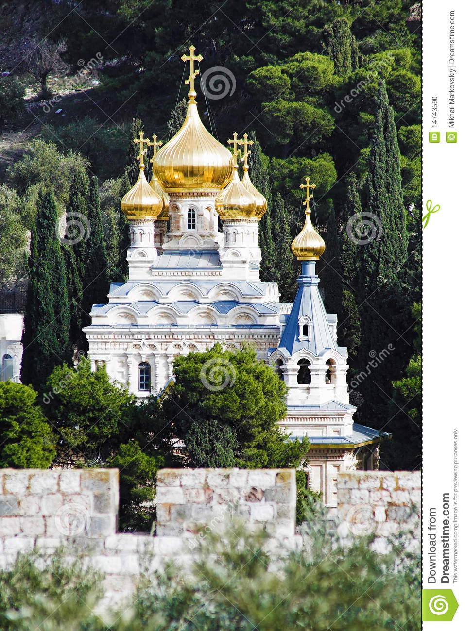Church of St. Mary Magdalene at Olives Mount