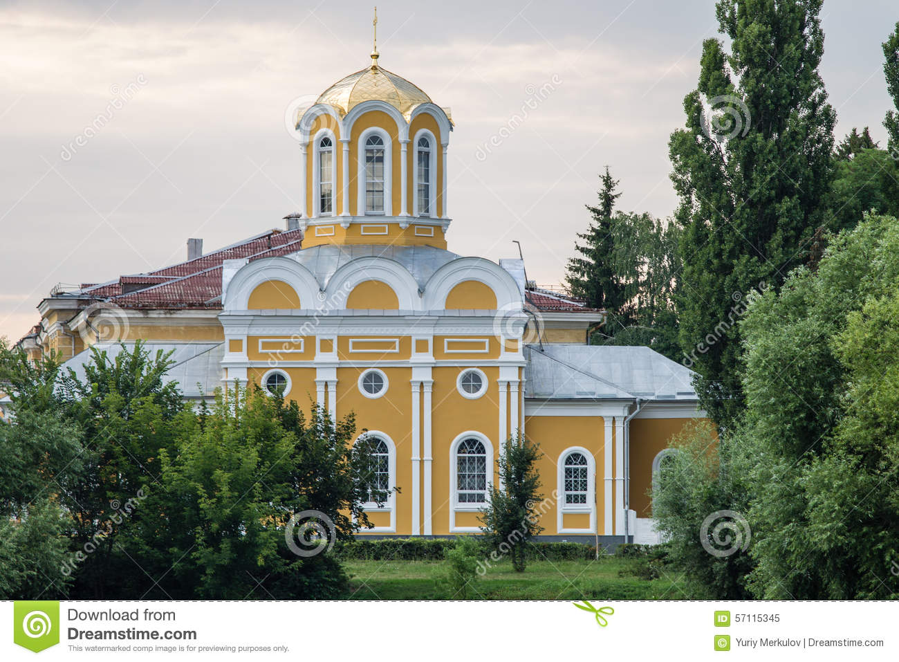 Church of st michael and fedor stock photo image 57115345 for Baroque architecture elements