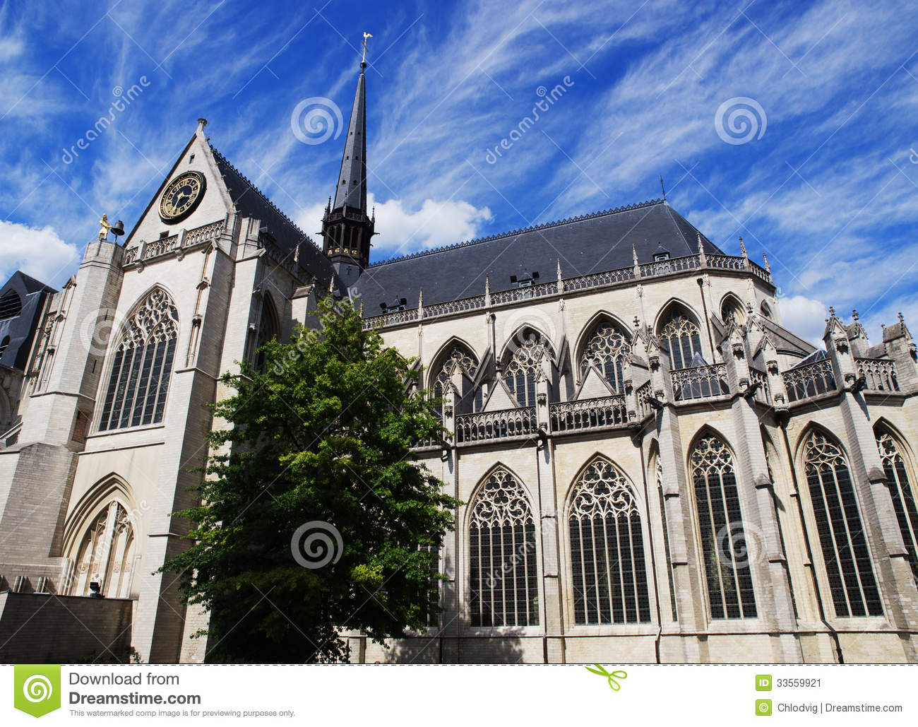 Church Of St Peter In Leuven Stock Image Image 33559921