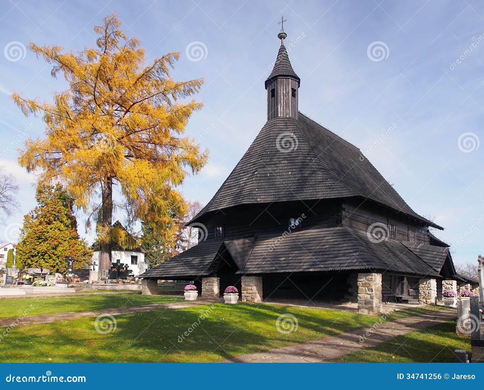 Church in Tvrdosin, UNESCO landmark
