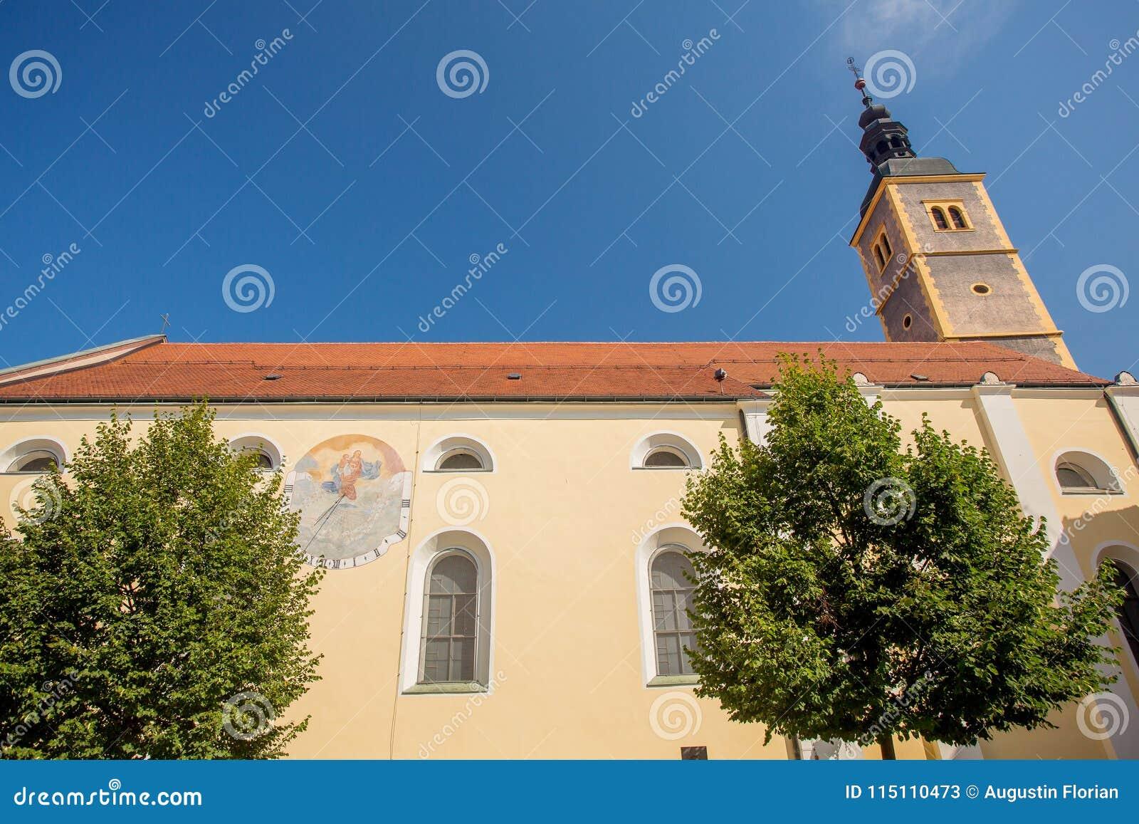 Church in Varazdin, Croatia