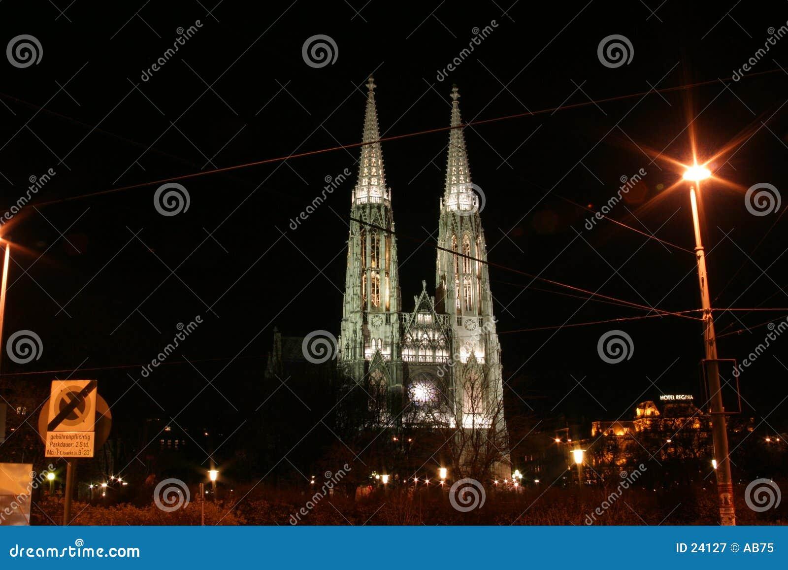 Church in Vienna - Votiv Kirche
