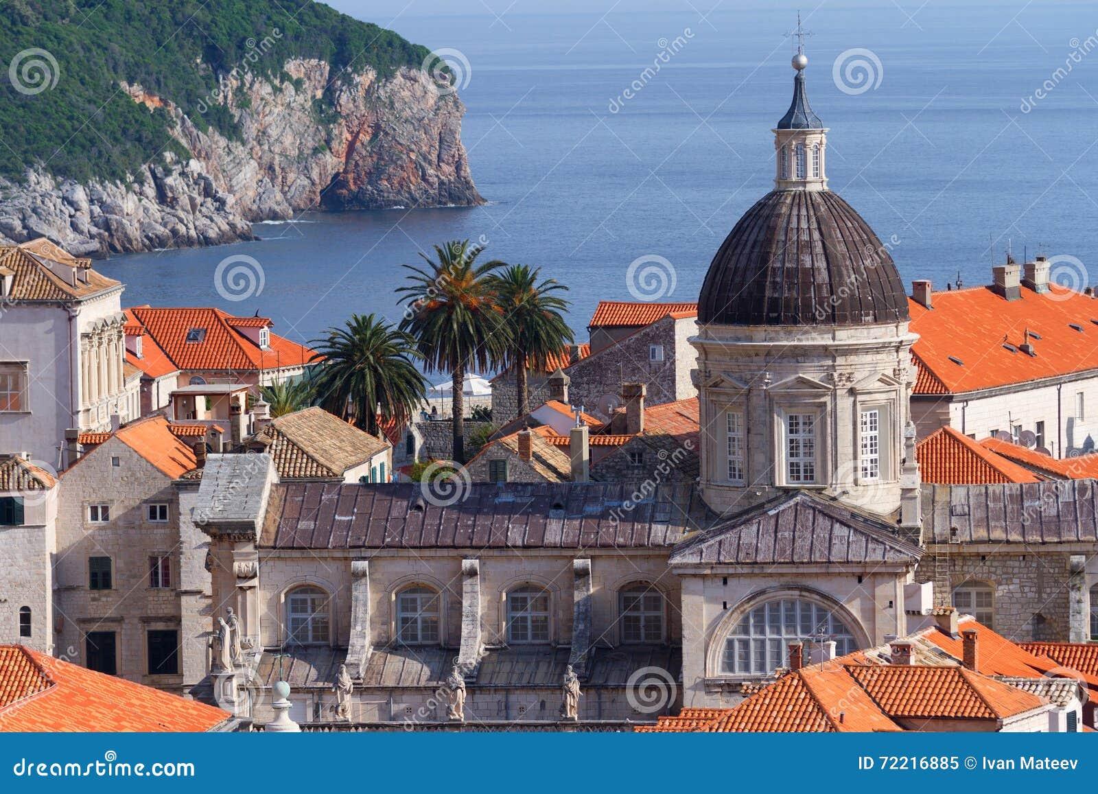 Churches in Dubrovnik, Croatia