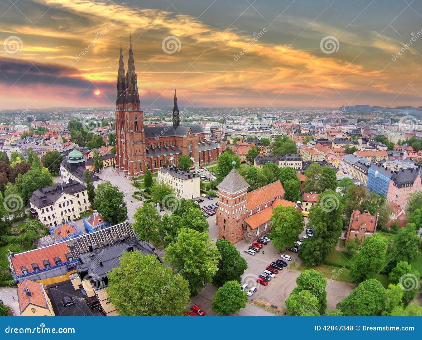 The 2 churches of Uppsala