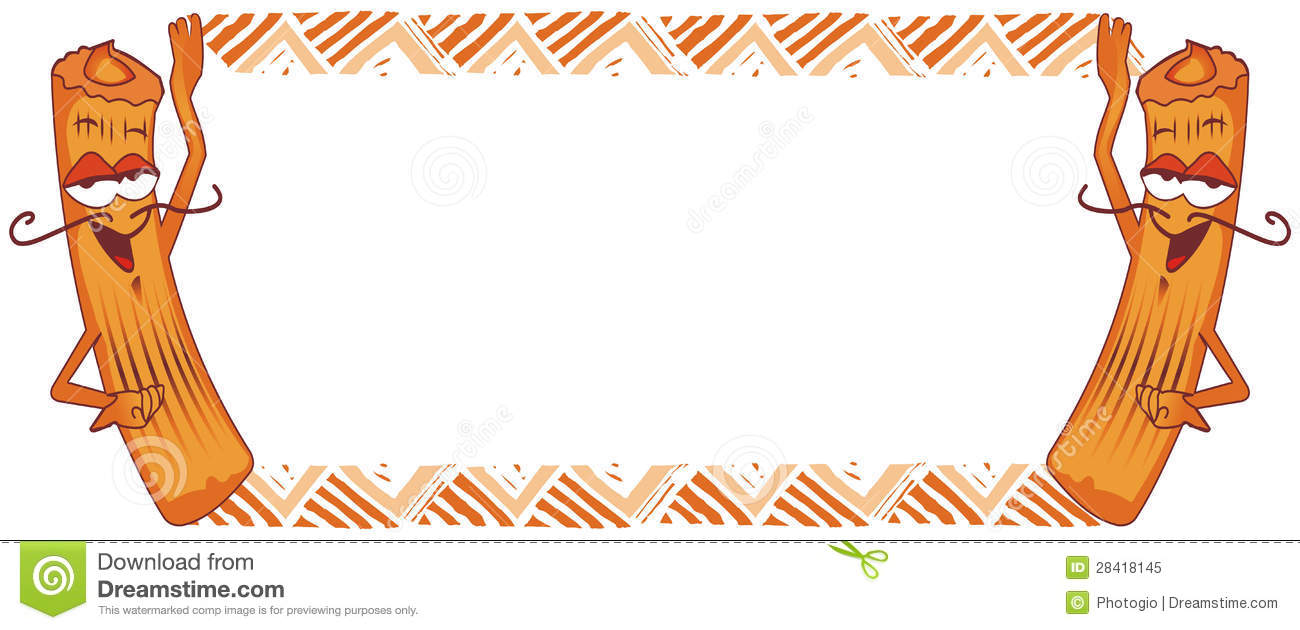 Churro Frame, Spanish Donut Royalty Free Stock Photo - Image: 28418145
