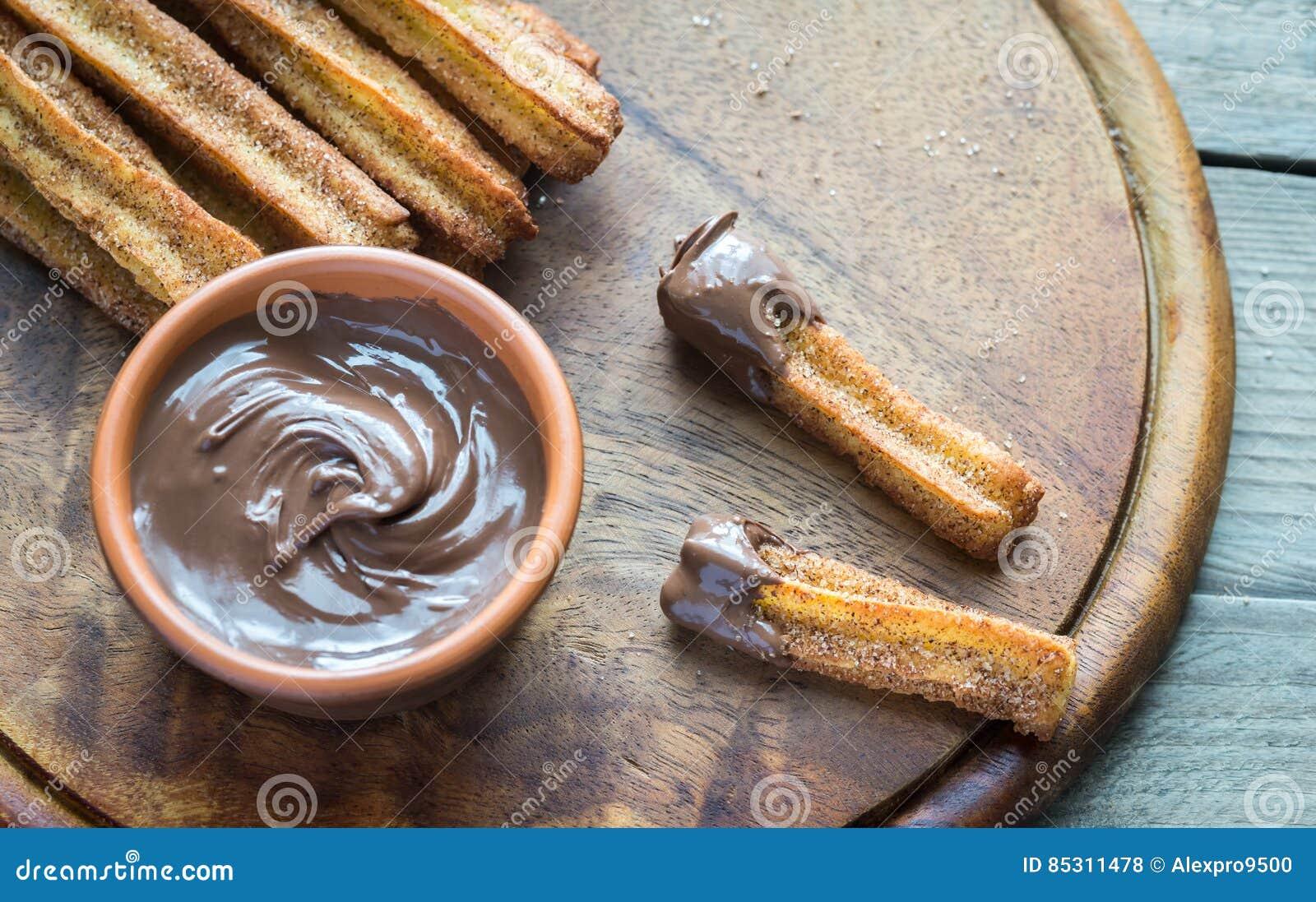 spansk efterrätt choklad