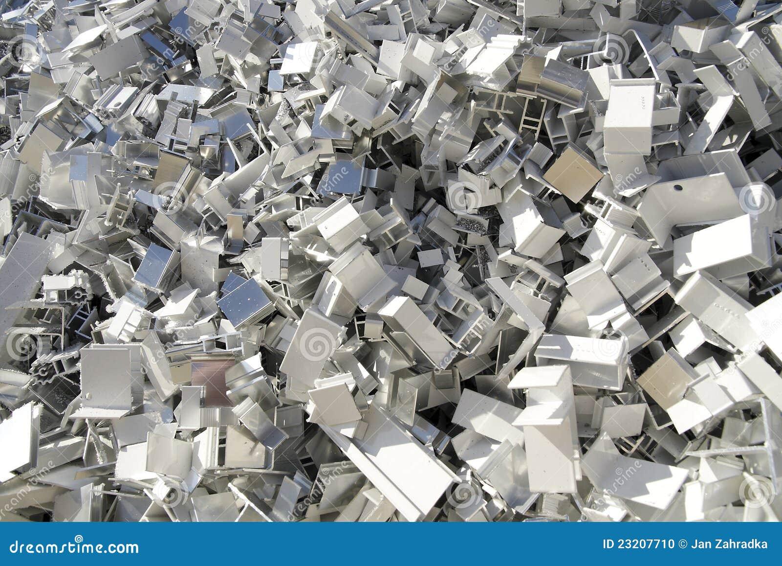 Chute en aluminium