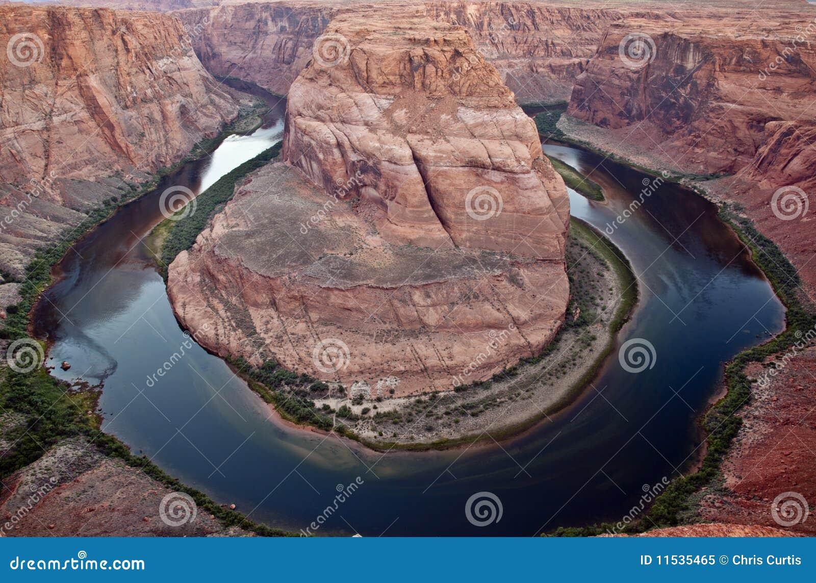 Chyłu Colorado podkowy rzeka