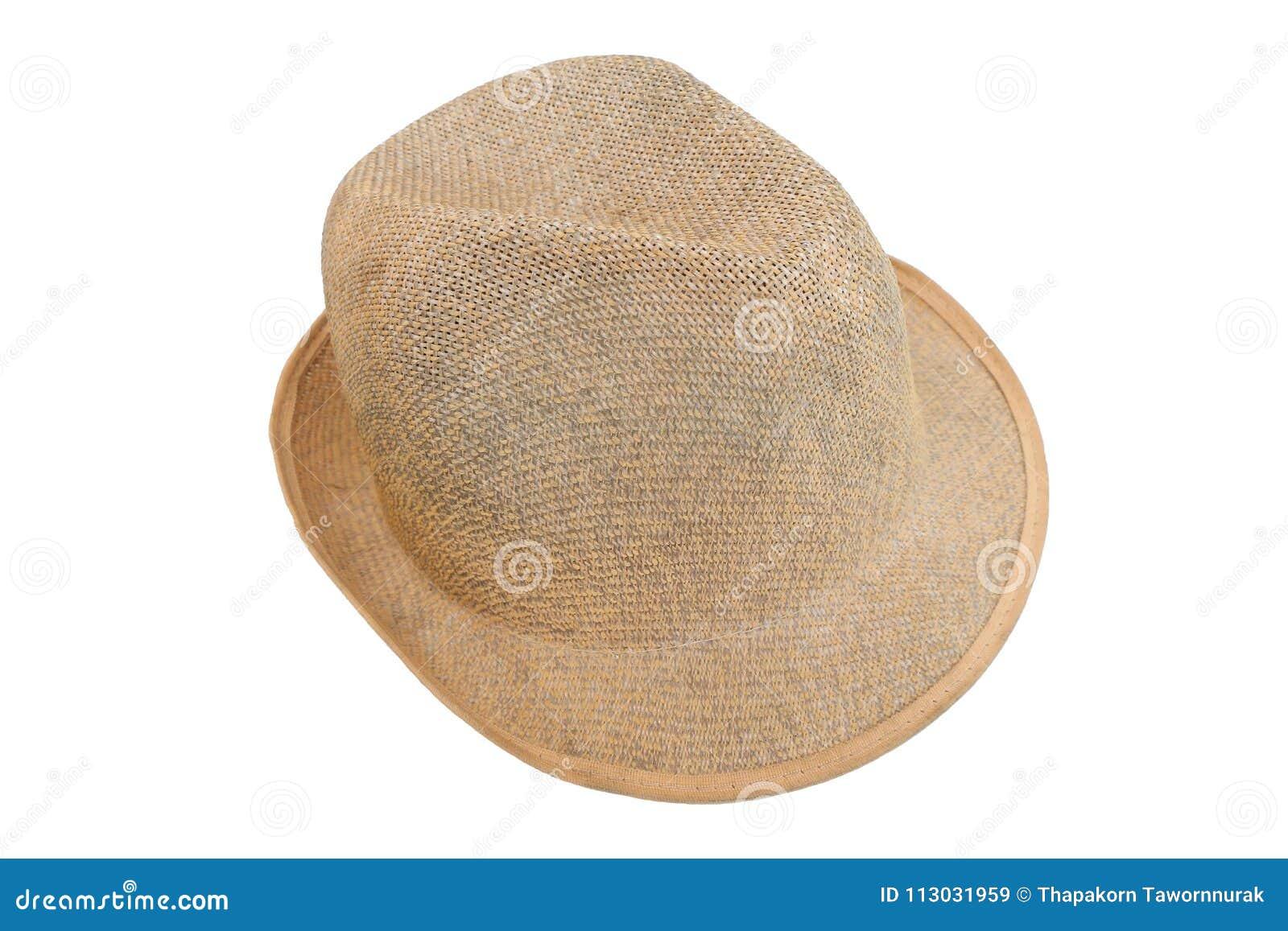 Ciérrese encima del sombrero de la mano