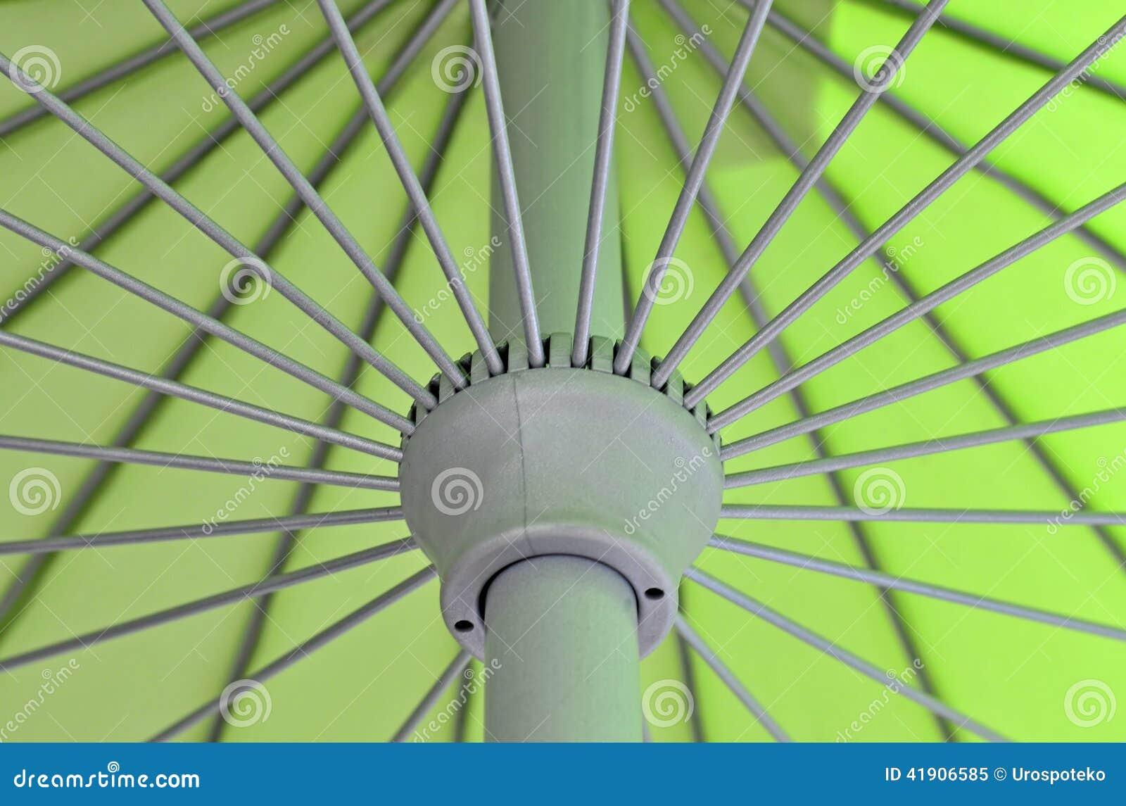 Ciérrese para arriba de modelo del paraguas
