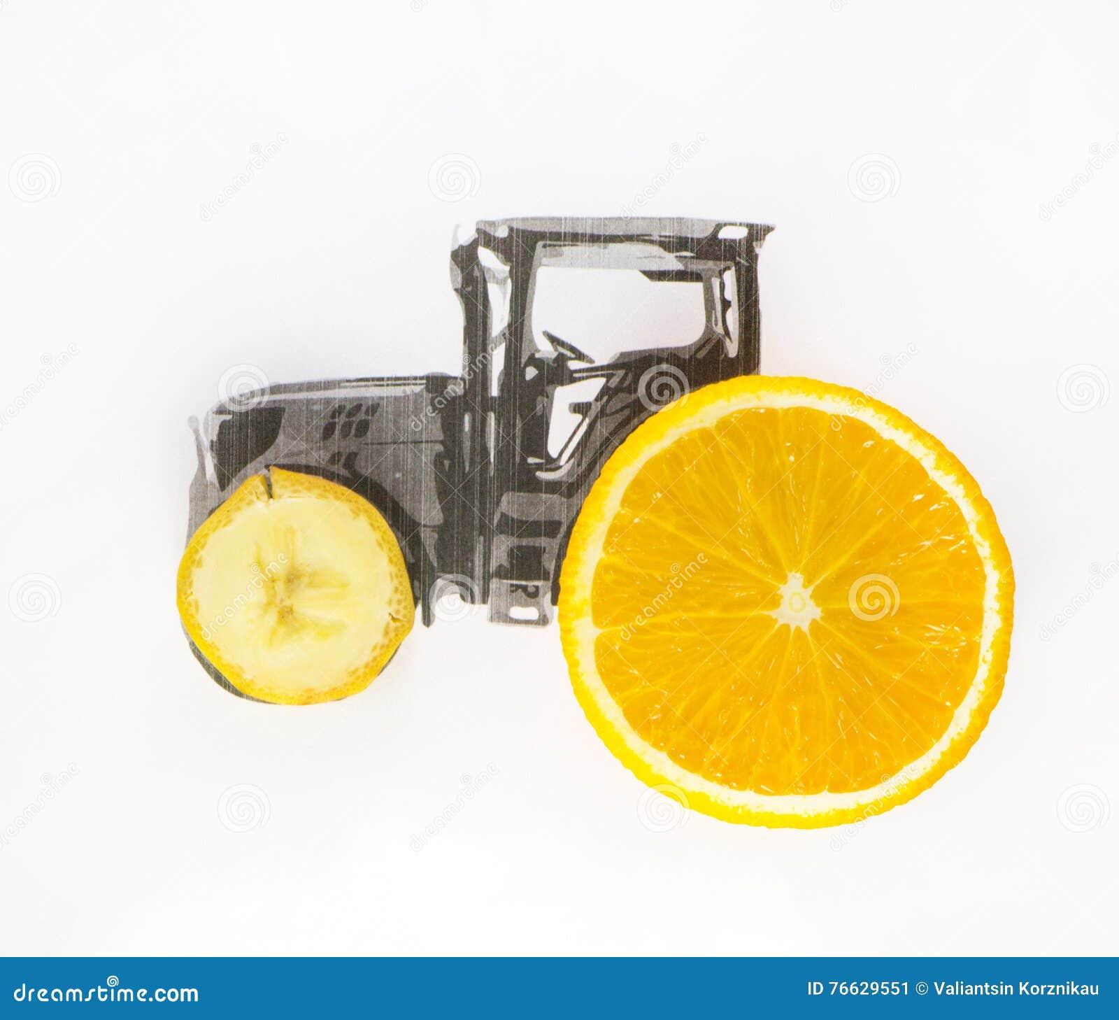 Ciągnik Toczy owoc