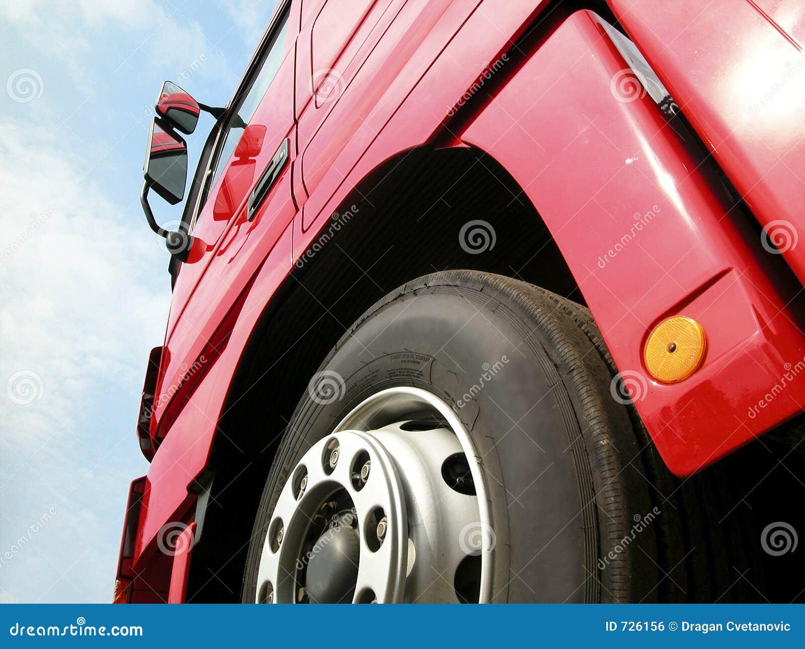 Ciężarówka opon