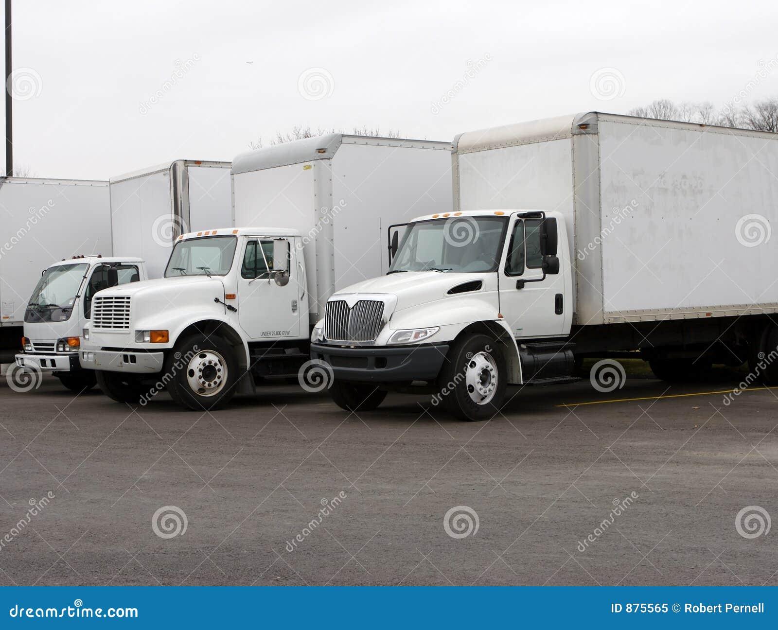 Ciężarówki doręczeniowe
