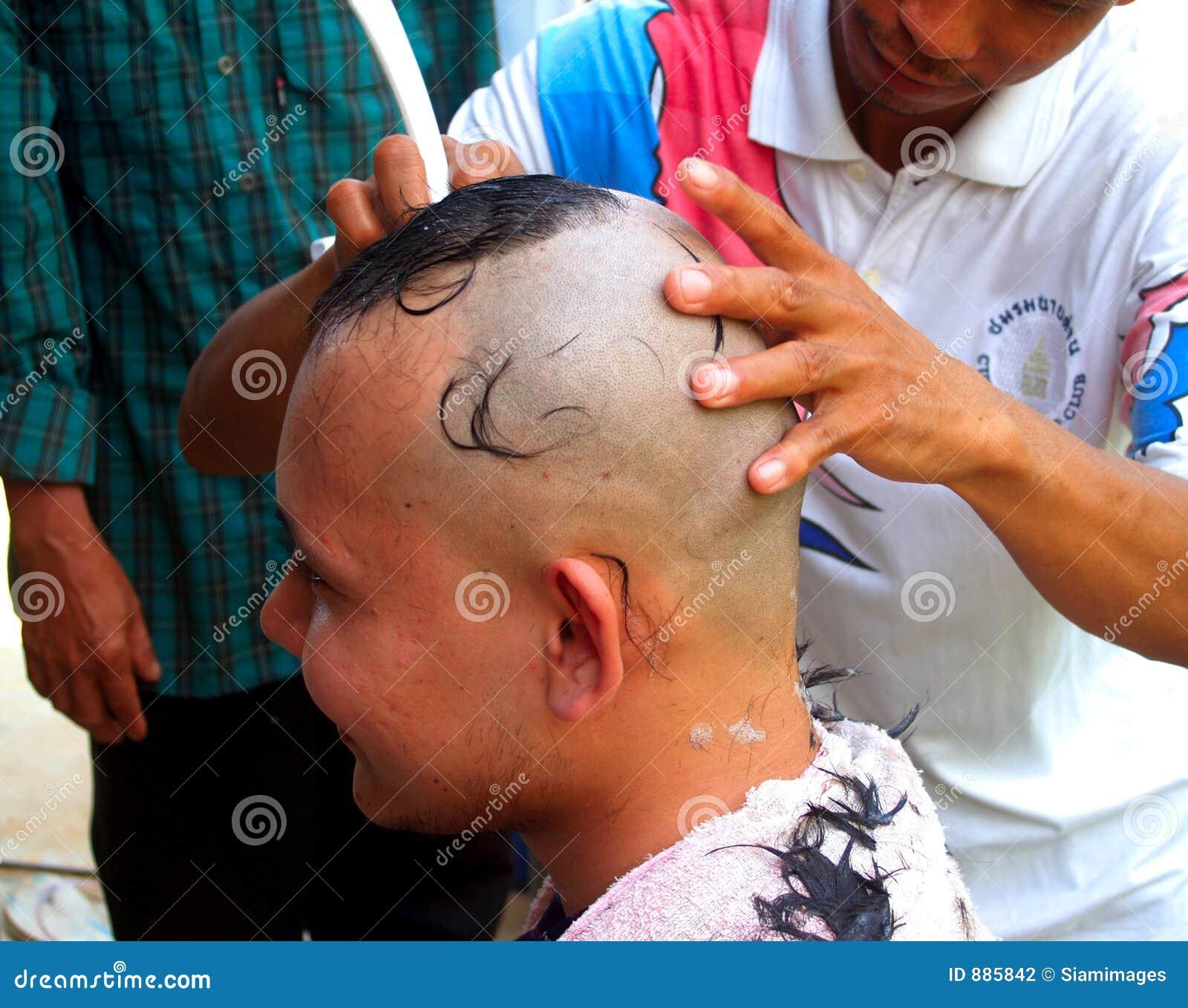 Cięcie 5 włosy