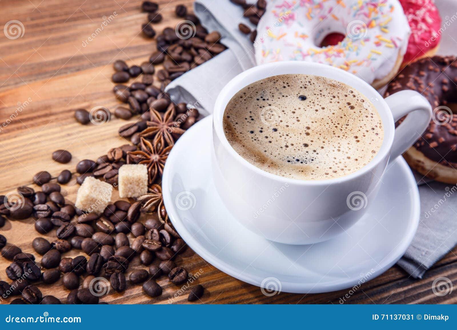 Ciambella dei chicchi di caffè