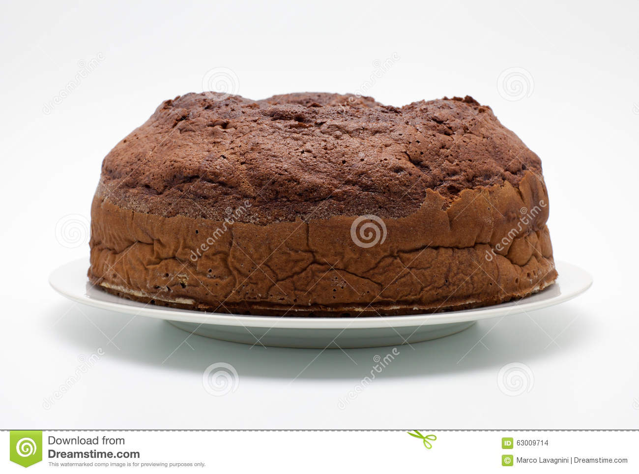 Pure Chocolate Cake Images : Ciambellone (pure Chocolate) Stock Photo - Image: 63009714