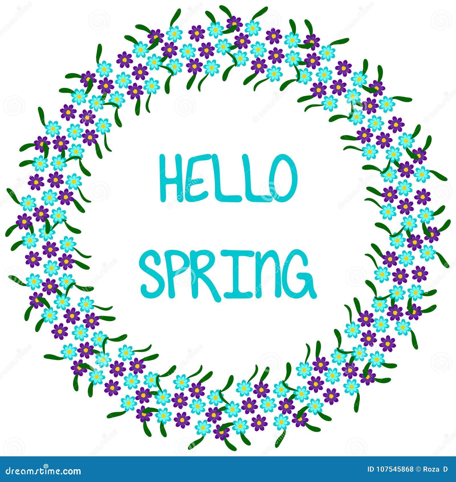 Ciao primavera, pagina rotonda 1-1