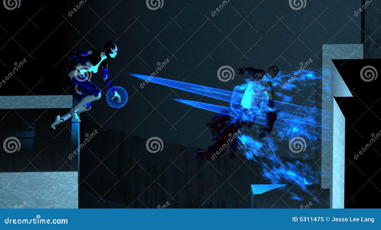 Download Ciao Prova Di Forza Futura Del Soldato Di Ricerca Illustrazione di Stock - Illustrazione di energia, guerriero: 5311475