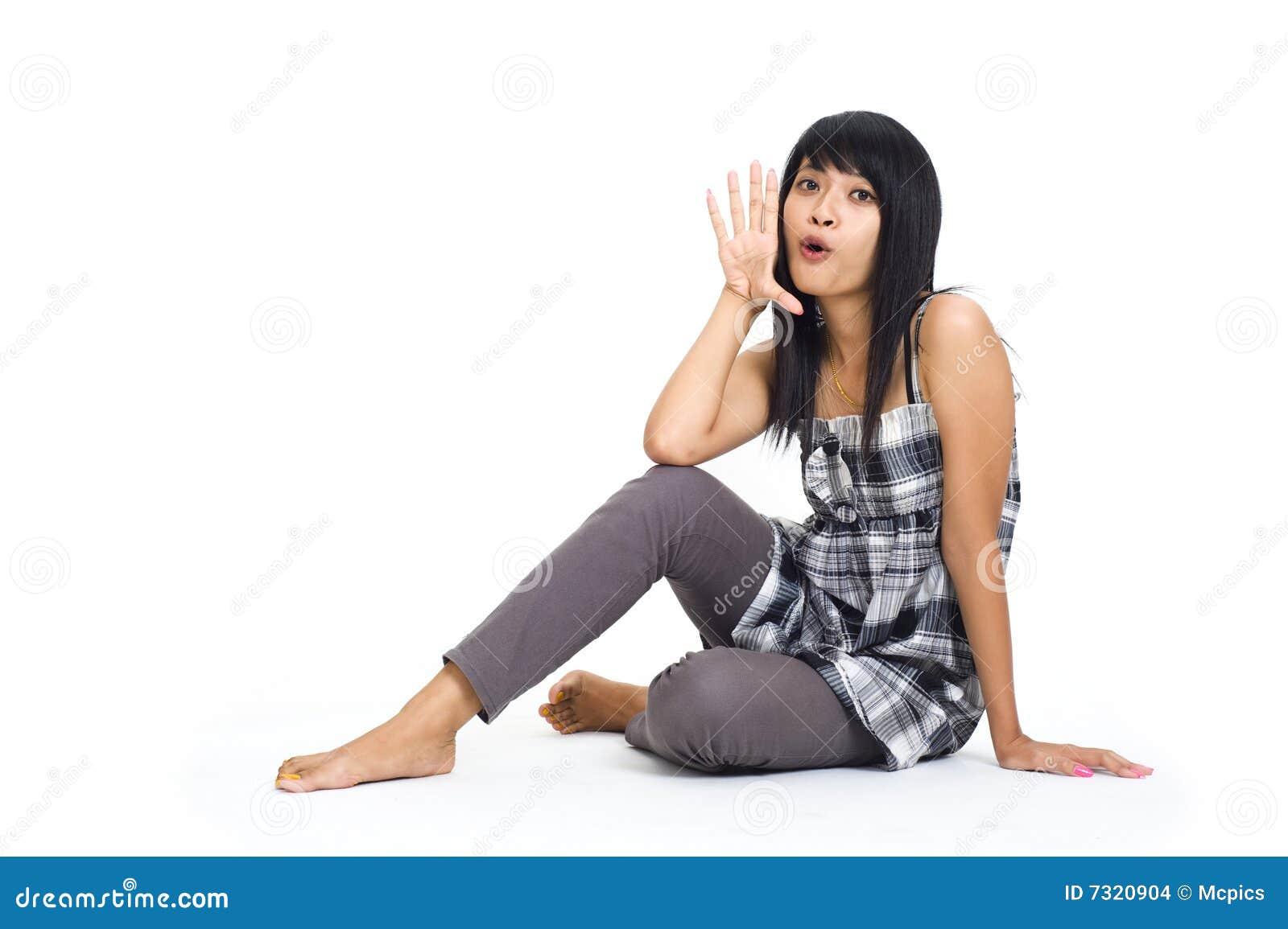 Ciao-ragazza asiatica