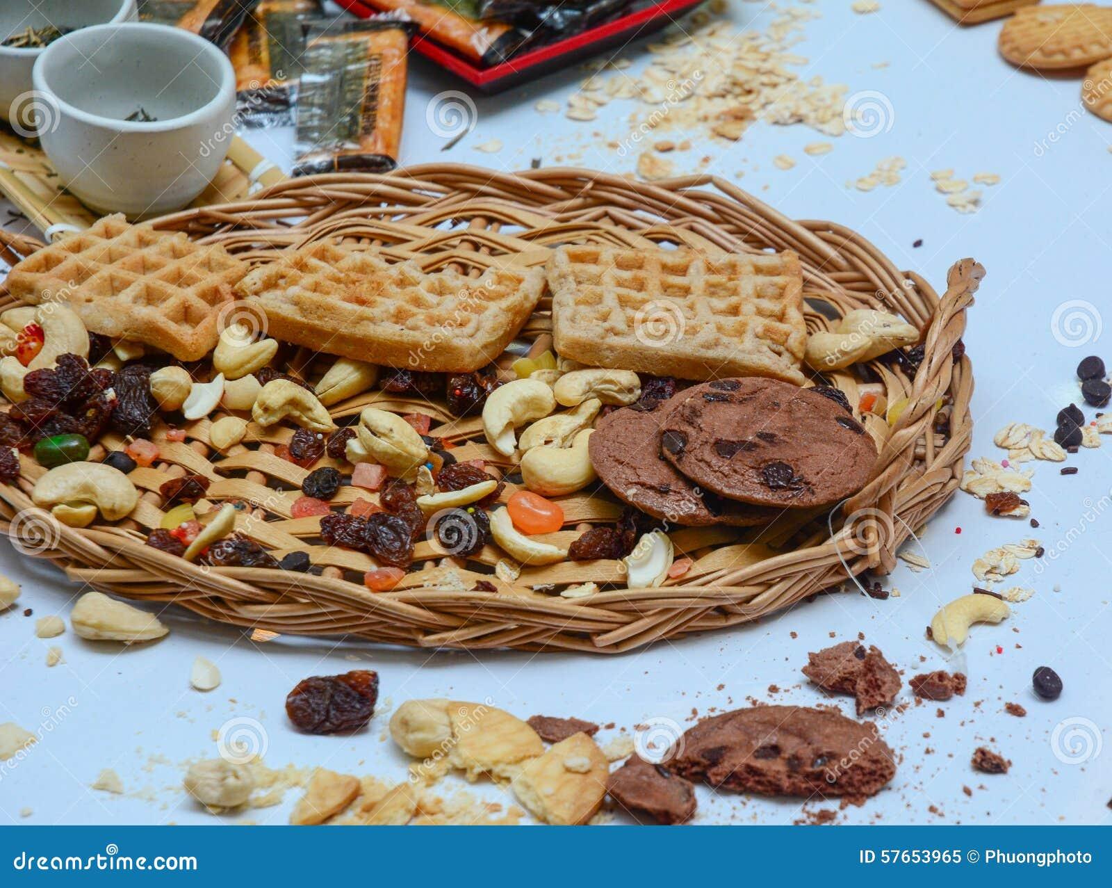 Ciastka i ciasta zbliżenie