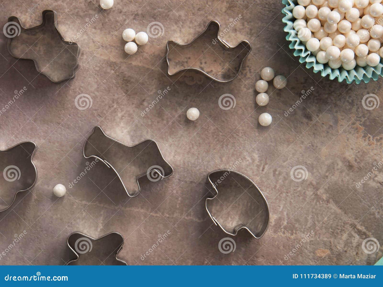 Ciastko kształta różnorodny krajacz