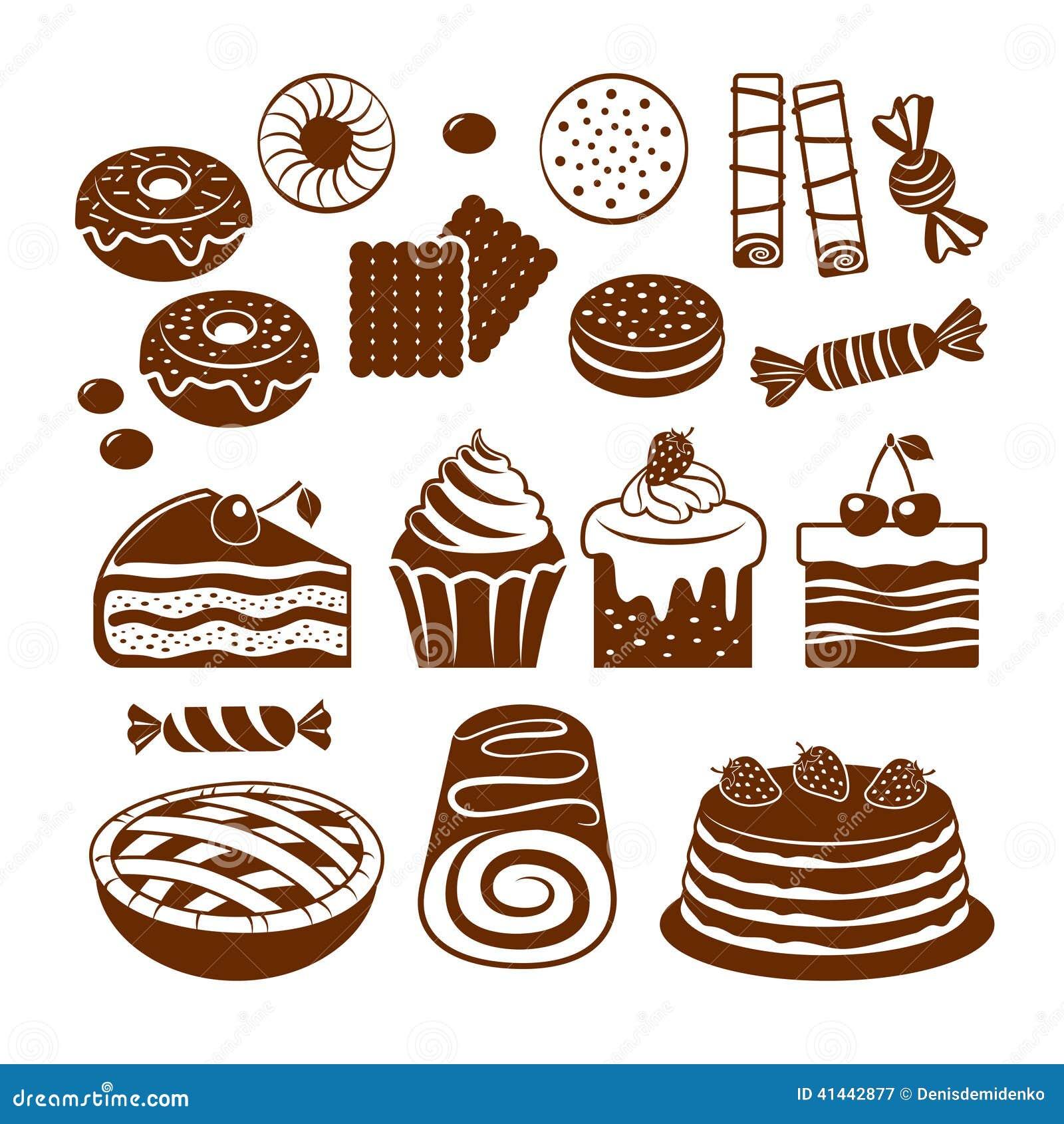 Ciasto ikony set