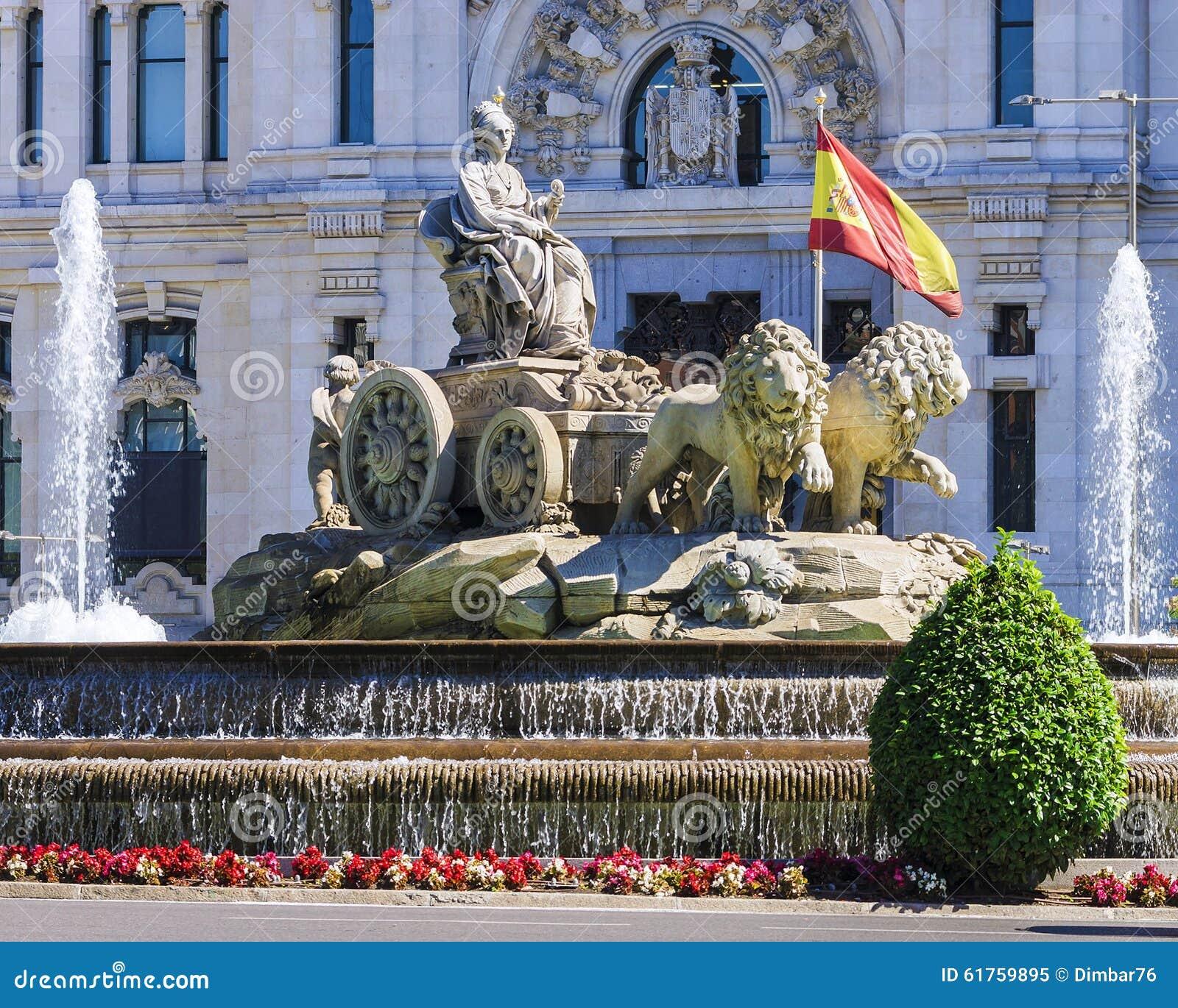 Cibeles喷泉-在同一个名字的正方形的一个喷泉