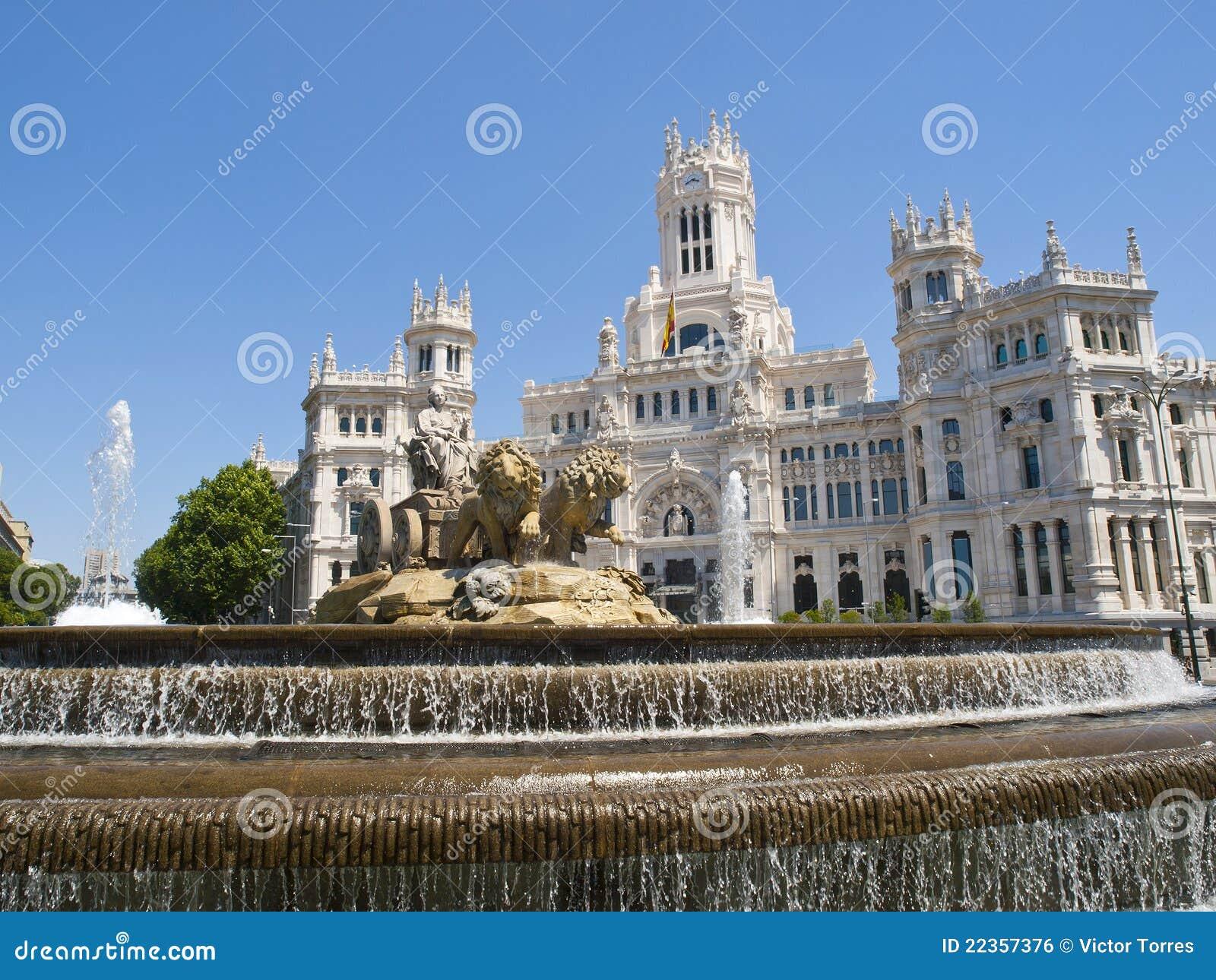 Cibeles马德里广场