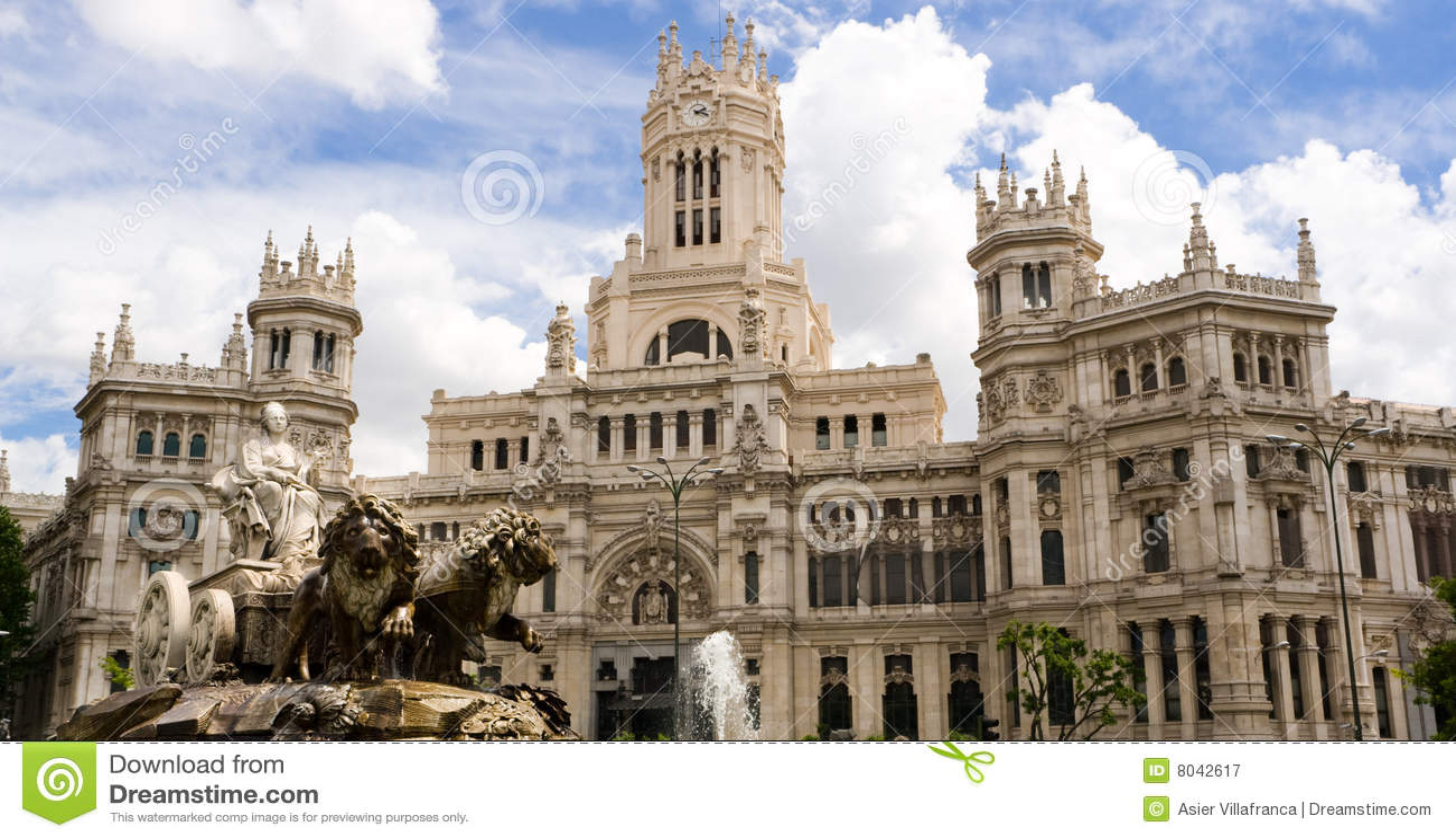 Cibeles Madrid statua